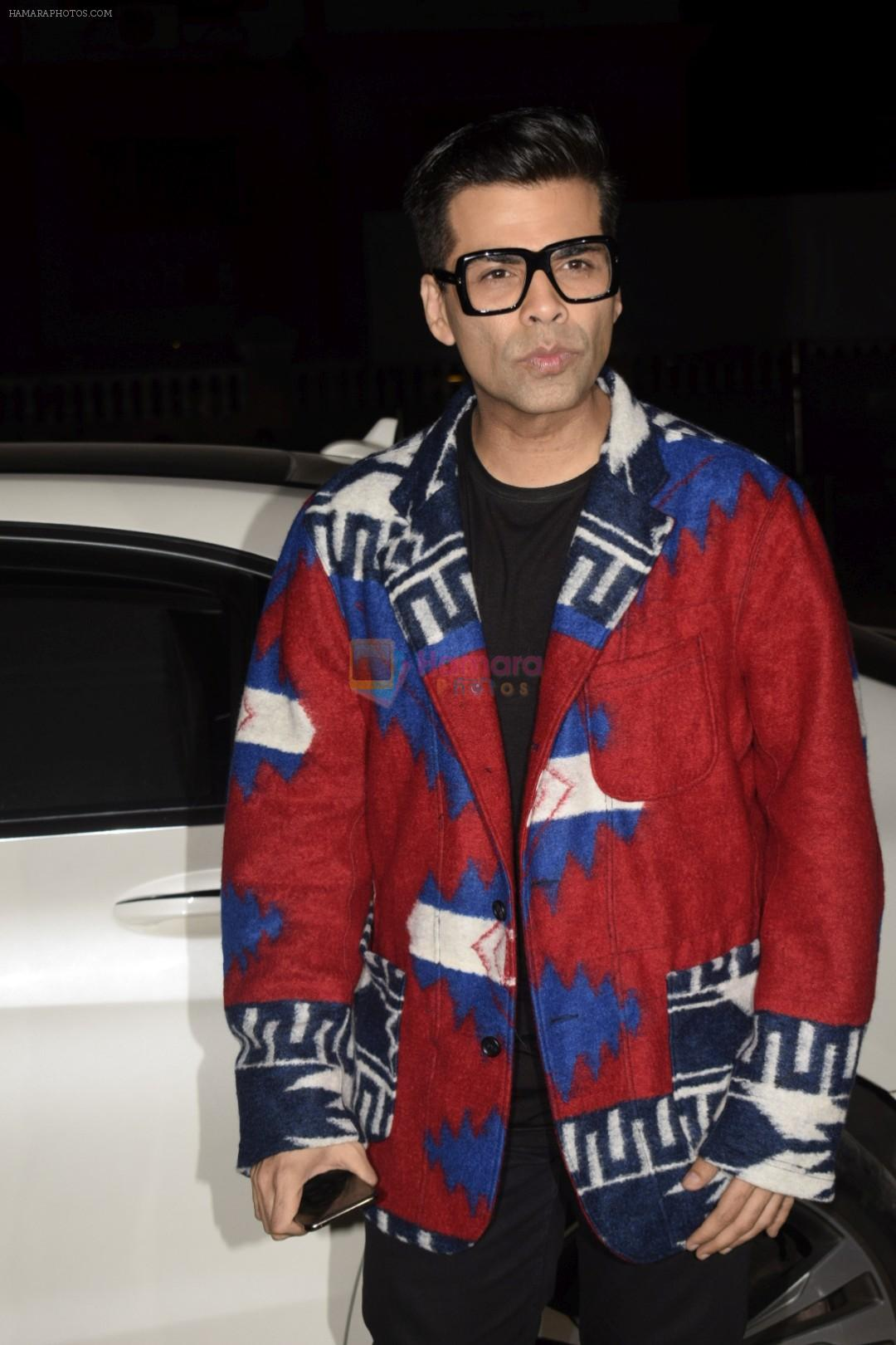 Karan Johar at the opening night of Soho Club on 15th Nov 2018