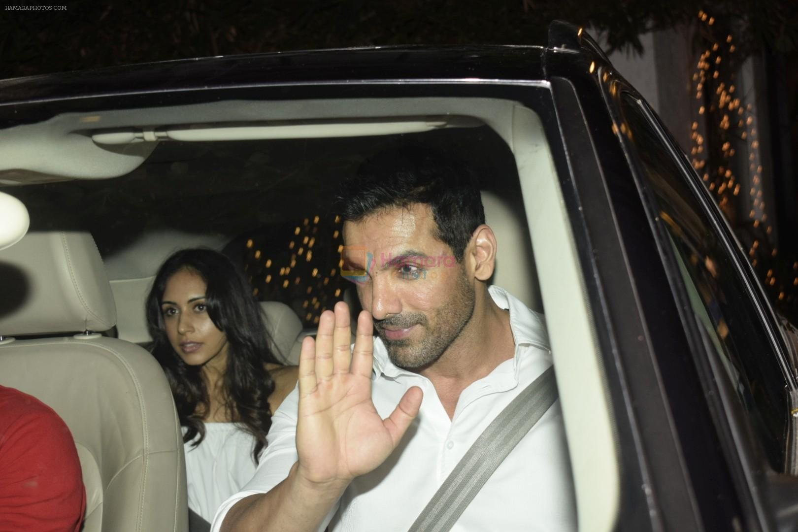 John Abraham party at his office on 18th Nov 2018