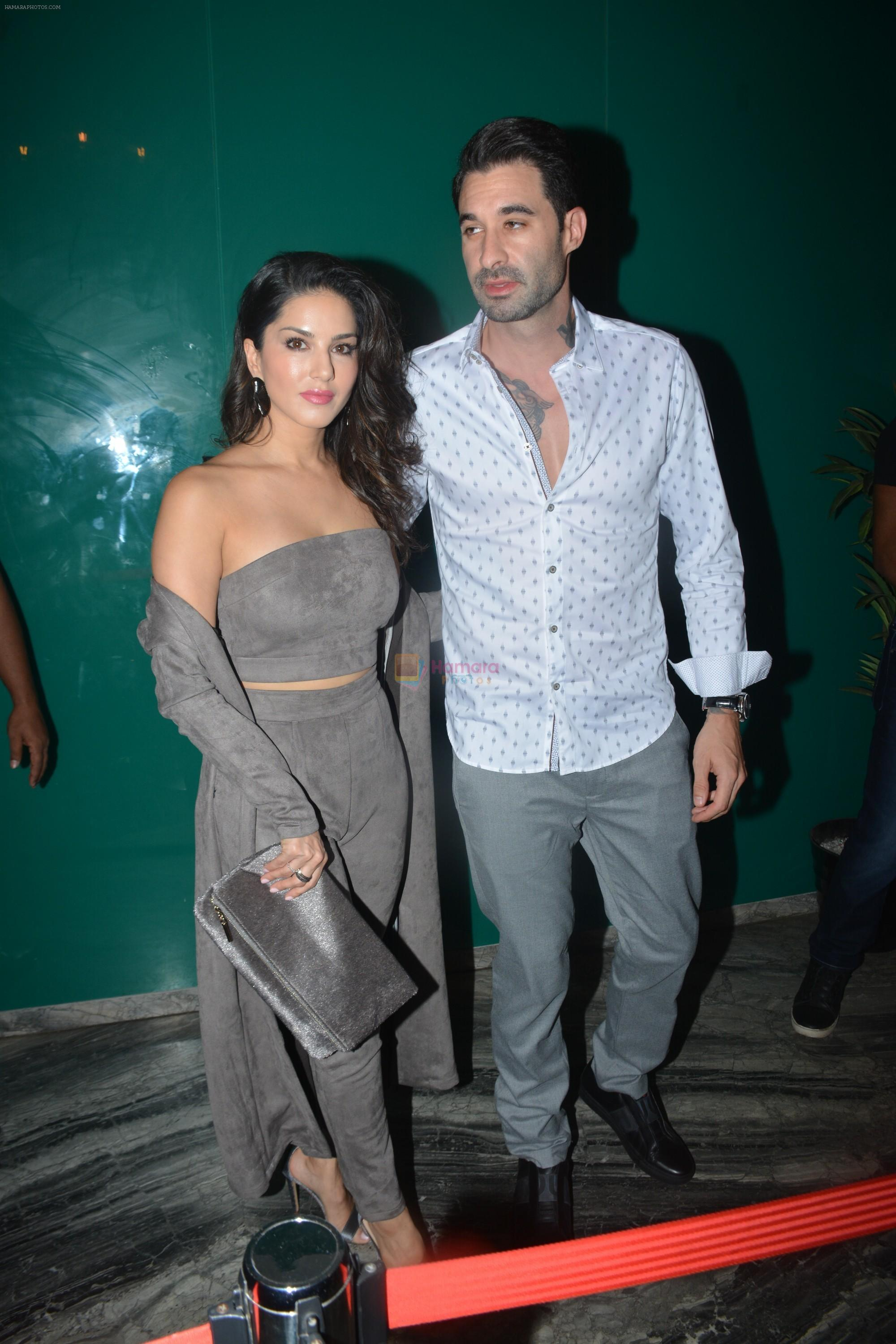 Sunny Leone, Daniel Weber at the launch of Hand Painted Animal Calendar By Filmmaker Omung Kumar on 21st Nov 2018
