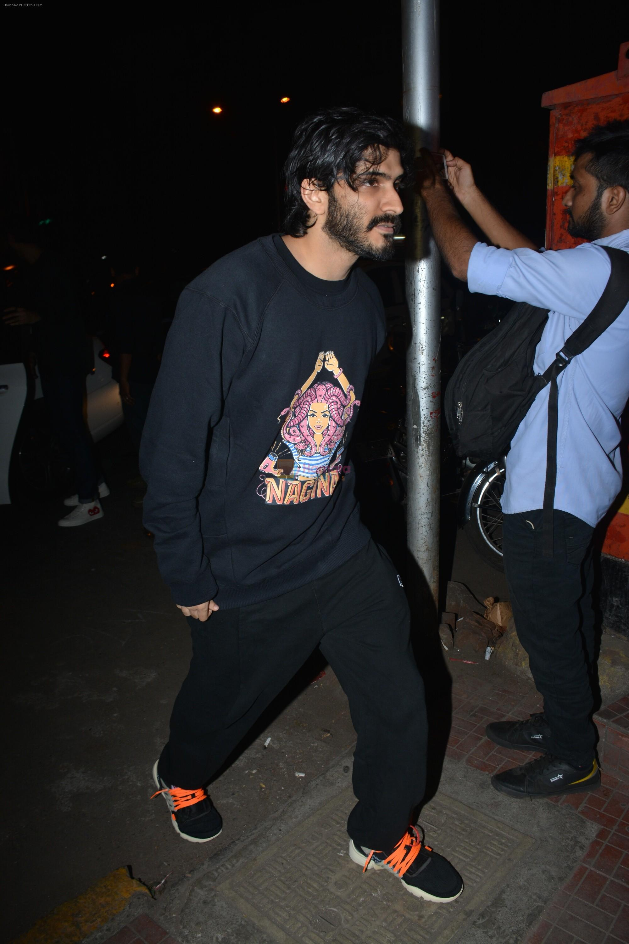 Harshvardhan Kapoor Spotted At Bastian In Bandra on 22nd Nov 2018