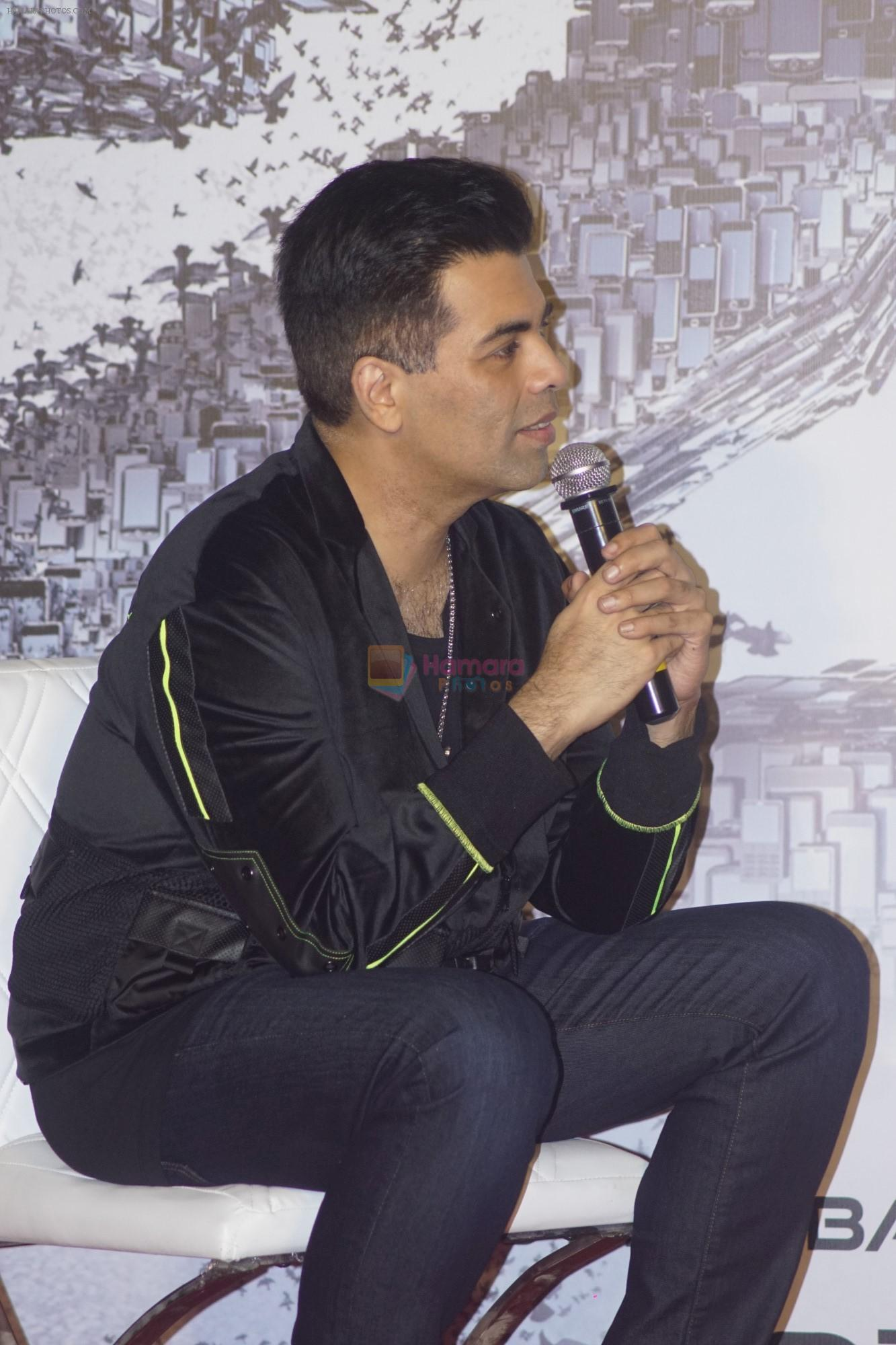 Karan Johar at the Press Conference for film 2.0 in PVR, Juhu on 25th Nov 2018