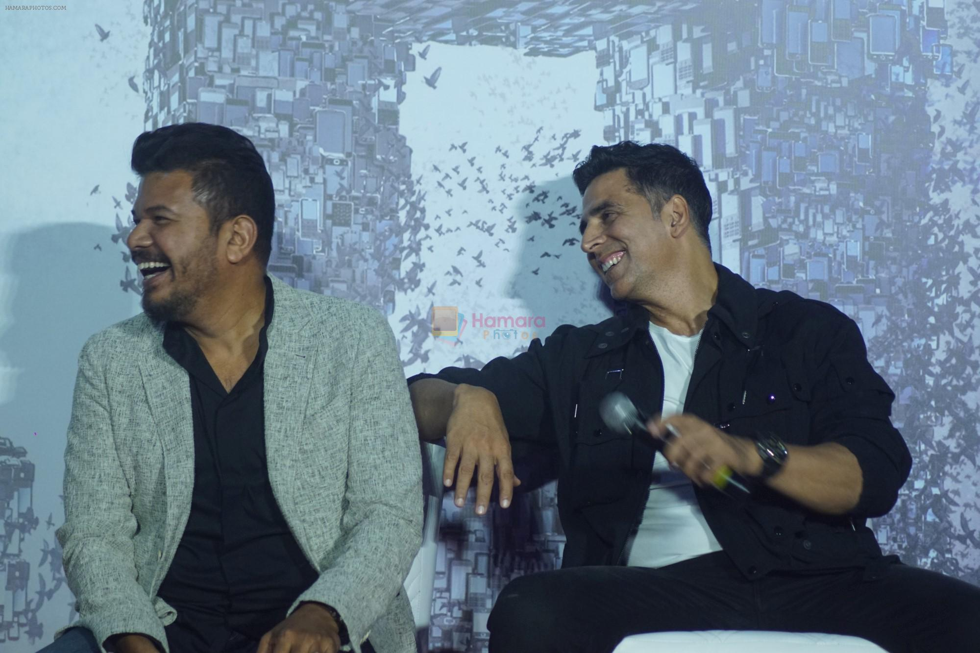 Akshay Kumar at the Press Conference for film 2.0 in PVR, Juhu on 25th Nov 2018
