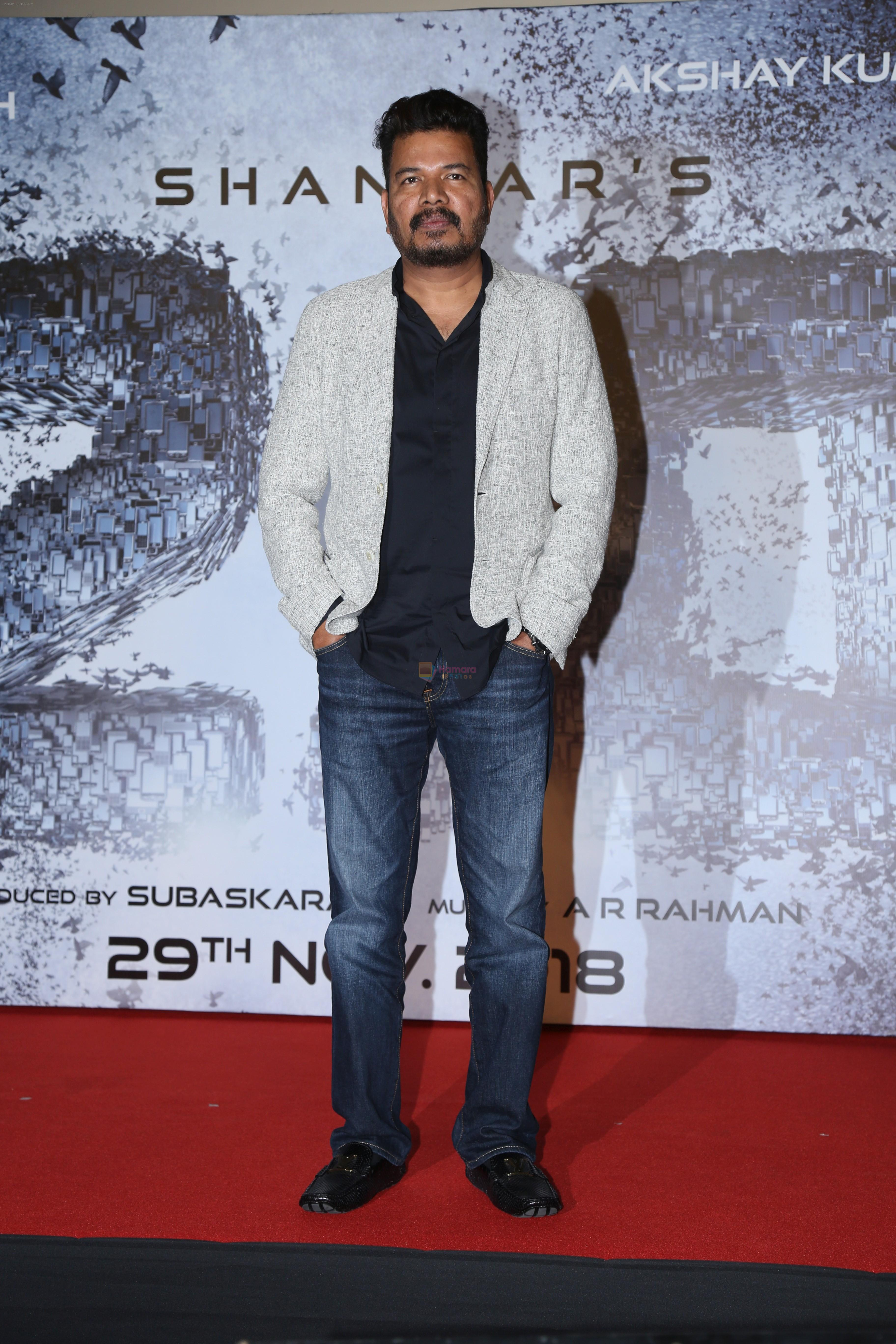S. Shankar at the Press Conference for film 2.0 in PVR, Juhu on 25th Nov 2018
