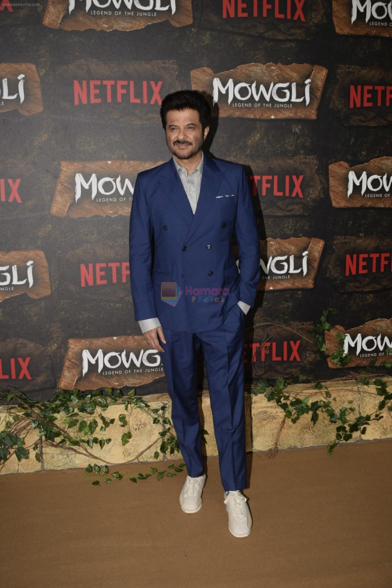 Anil Kapoor at Mowgli world premiere in Yashraj studios, Andheri on 26th Nov 2018