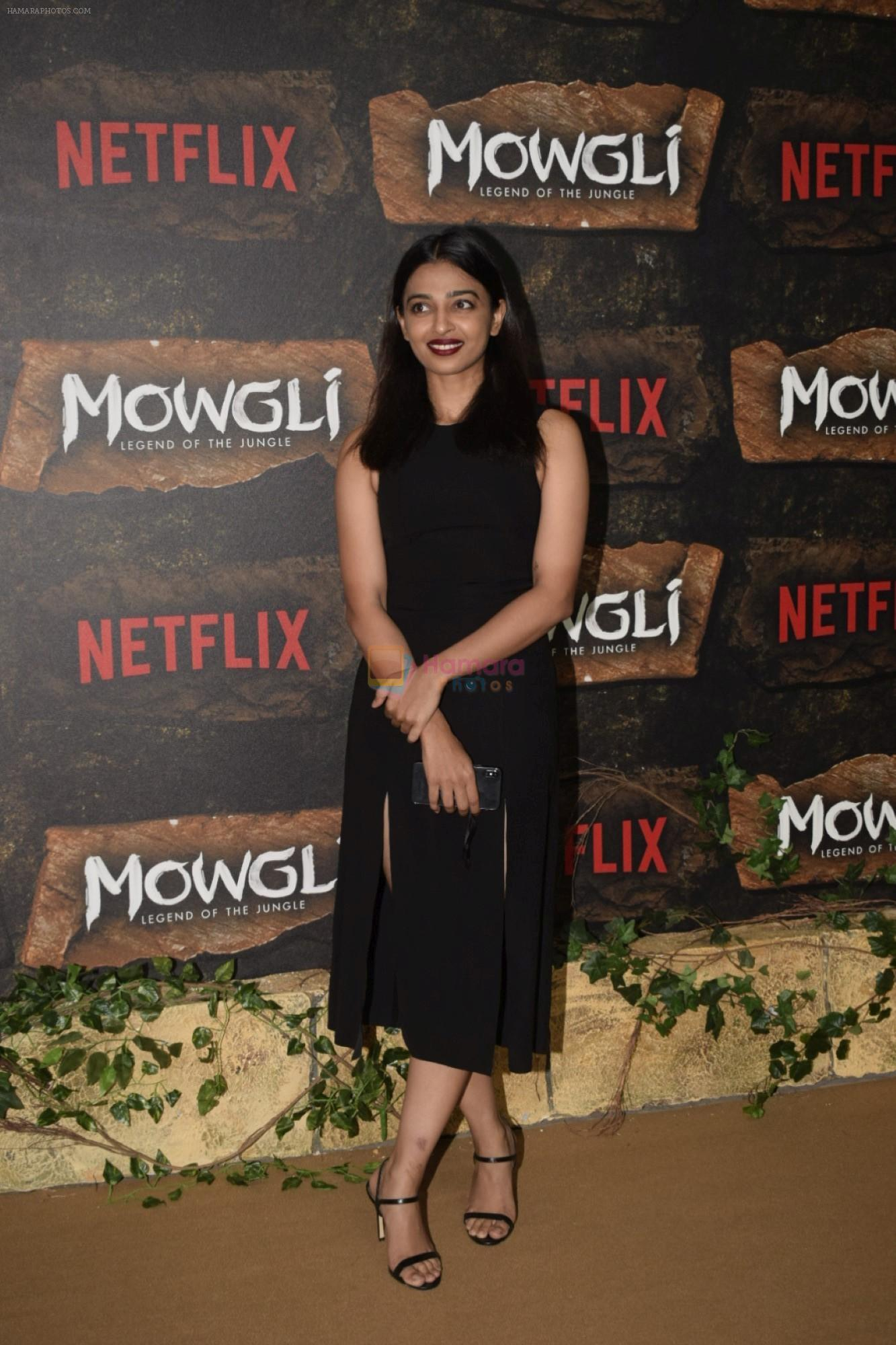 Radhika Apte at Mowgli world premiere in Yashraj studios, Andheri on 26th Nov 2018