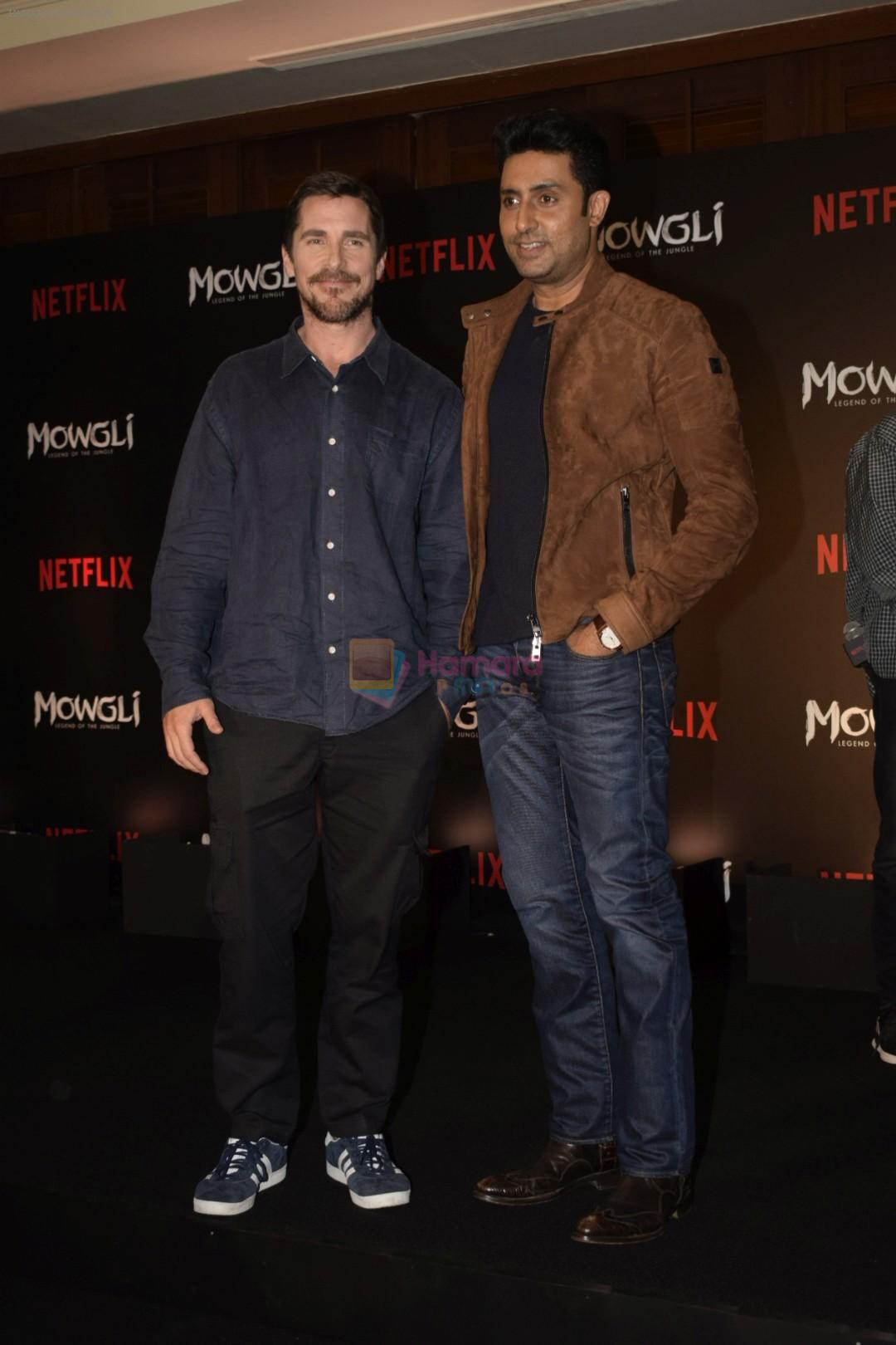 Abhishek Bachchan at the Press conference of Mowgli by Netflix in jw marriott, juhu on 26th Nov 2018