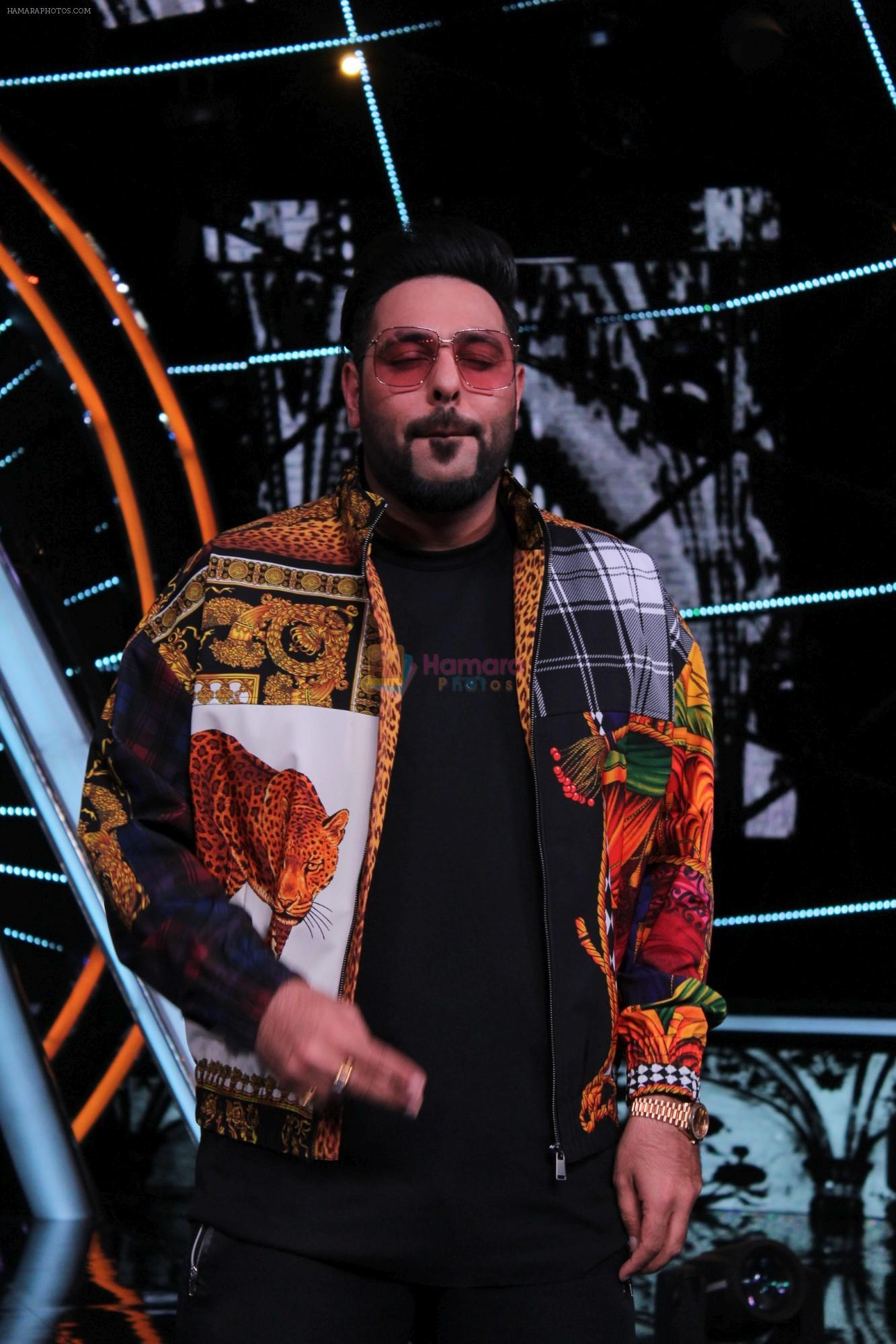 Badshah at Indian Idol Session 10 for Shoot Special Episode on 5th Dec 2018