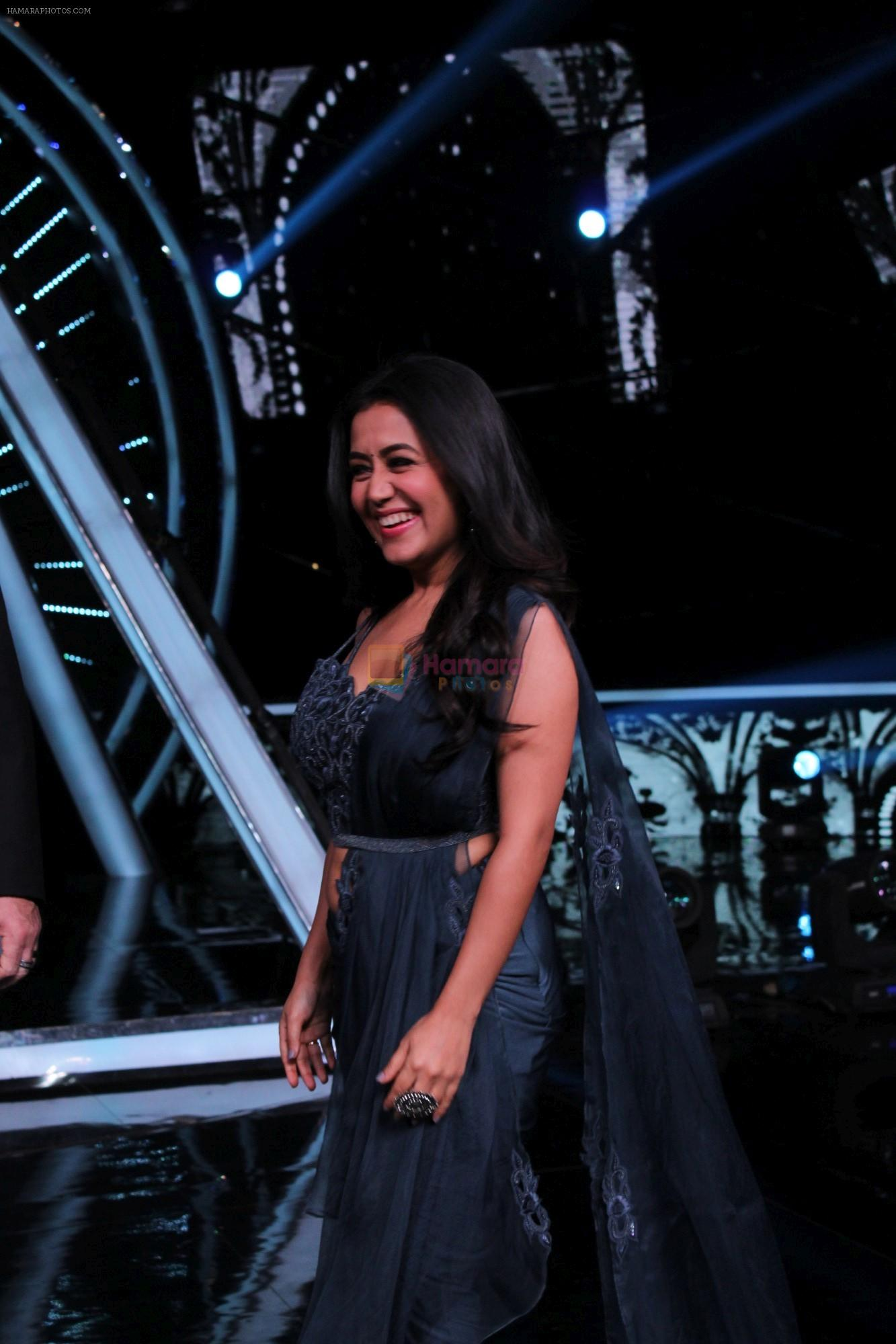Neha Kakkar at Indian Idol Session 10 for Shoot Special Episode on 5th Dec 2018