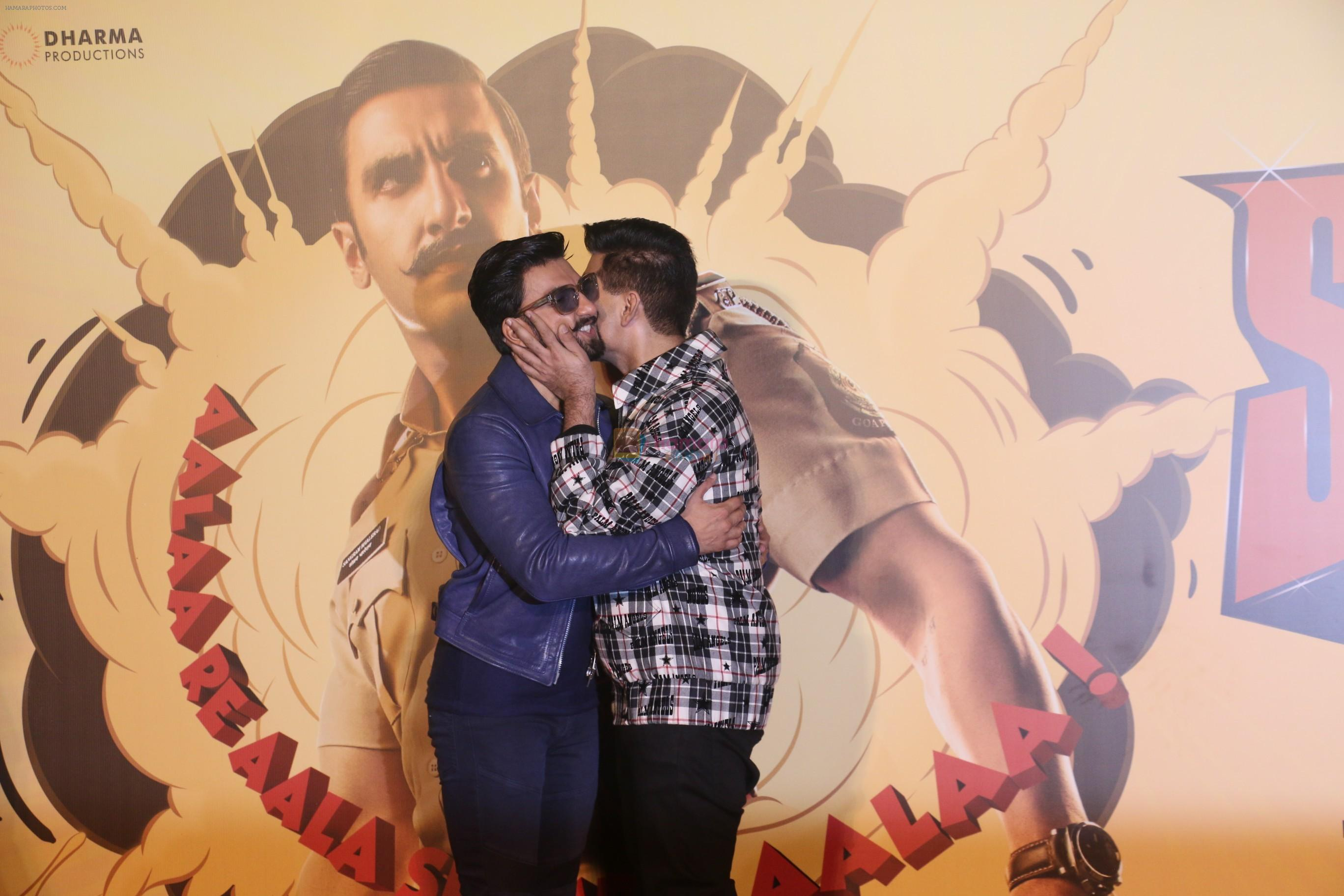 Ranveer Singh, Karan Johar at the Trailer launch of film Simmba in PVR icon, andheri on 4th Dec 2018