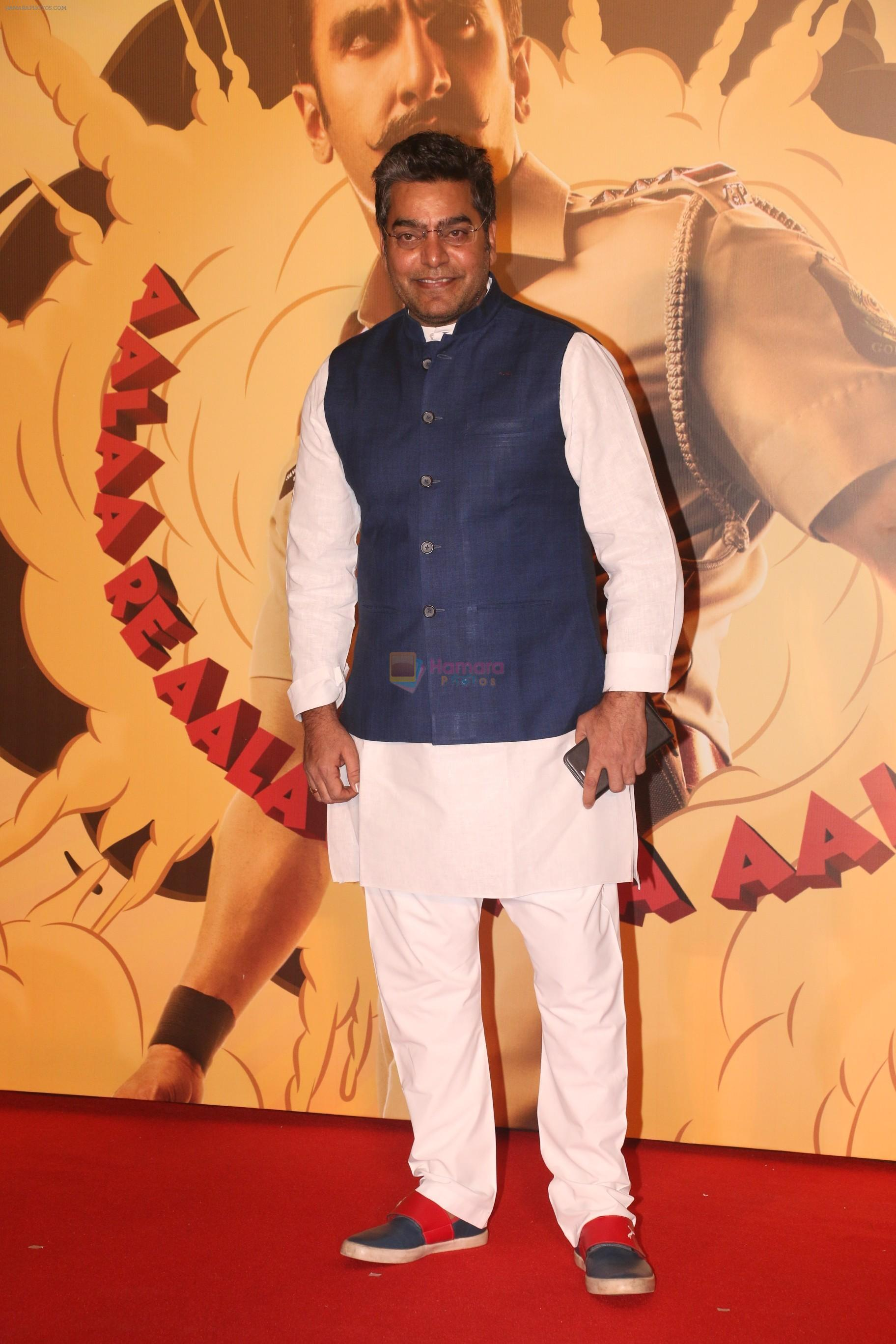 Ashutosh Rana  at the Trailer launch of film Simmba in PVR icon, andheri on 4th Dec 2018