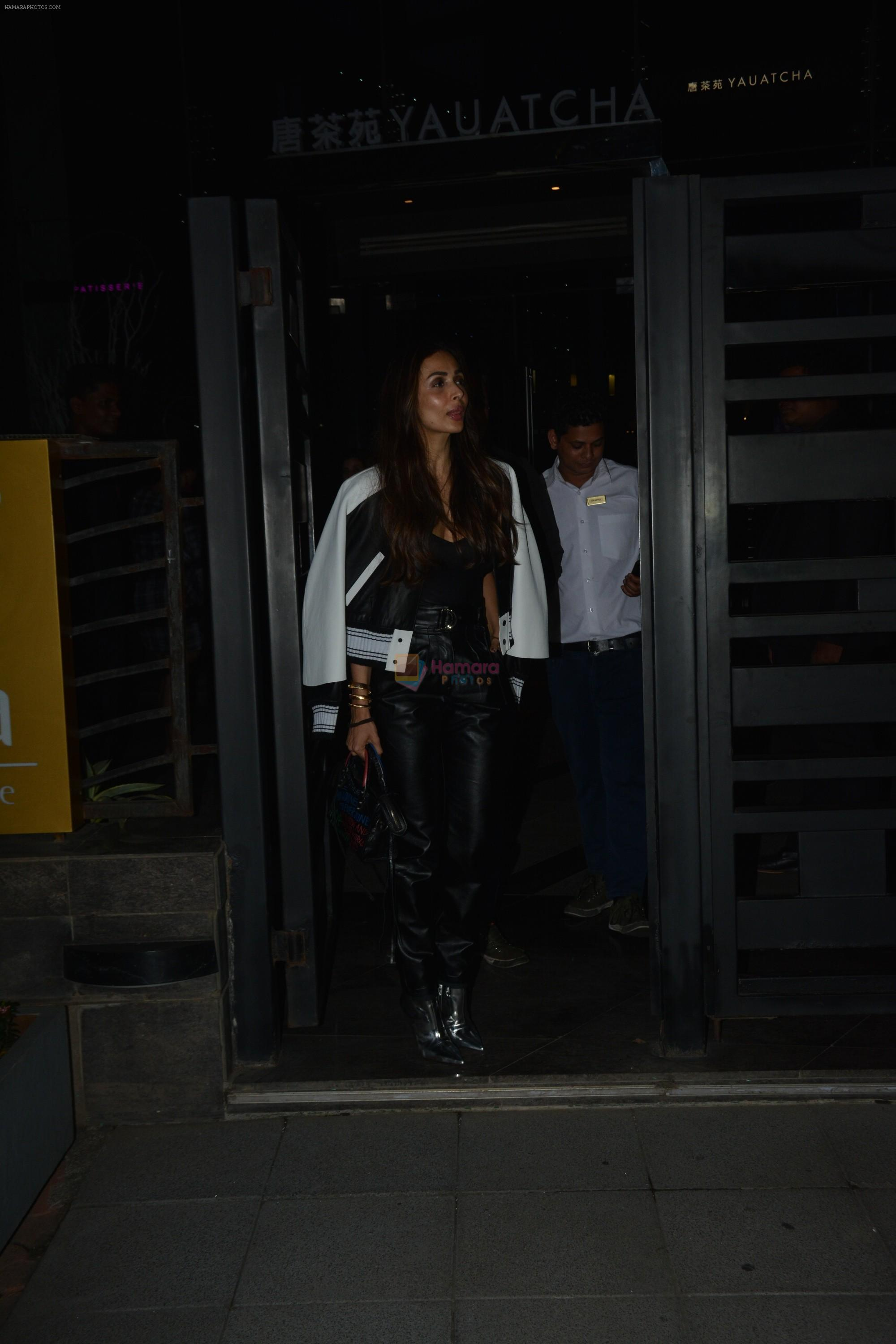 Malaika Arora Spotted At Yautcha Bkc on 5th Dec 2018