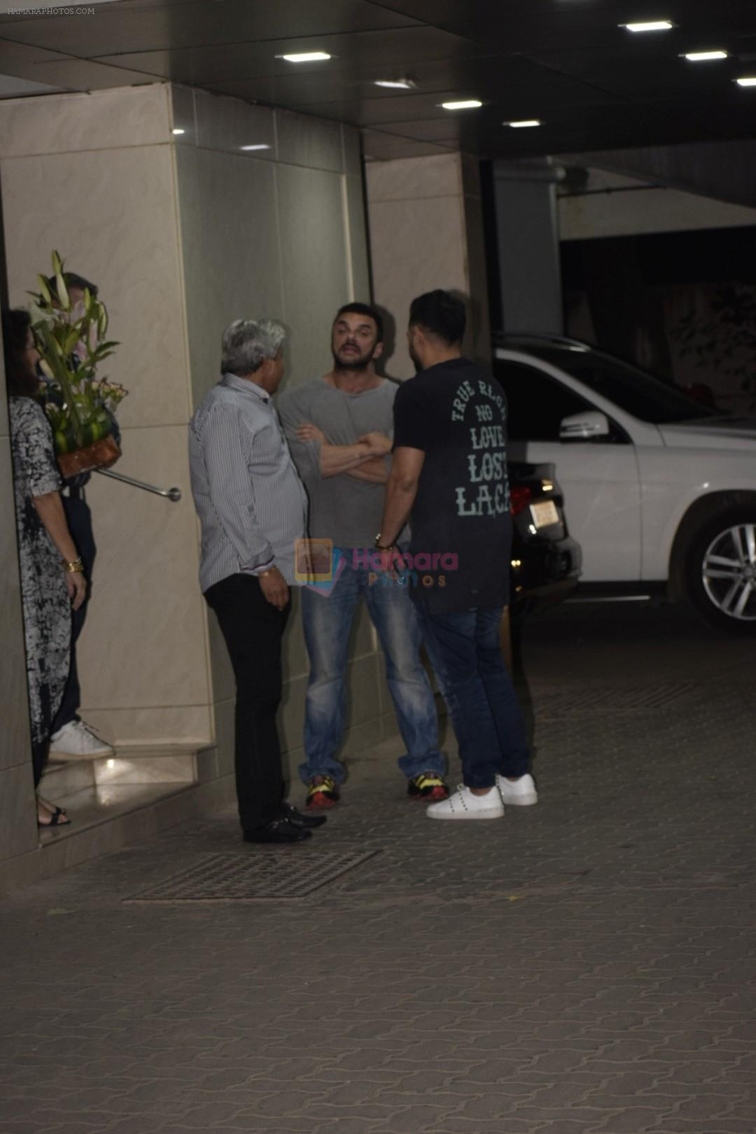 Sohail Khan at the Birthday Party Of Sohail Khan's Son in Bandra on 15th Dec 2018