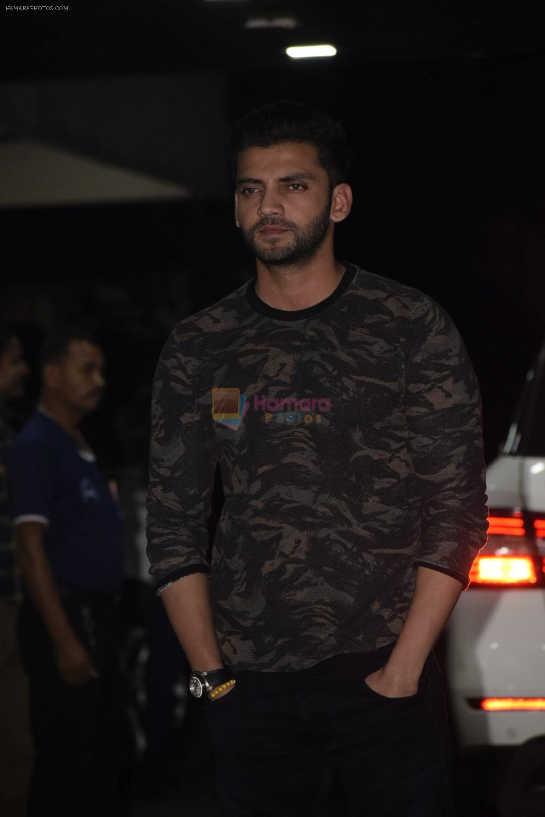 Zaheer Iqbal at the Birthday Party Of Sohail Khan's Son in Bandra on 15th Dec 2018