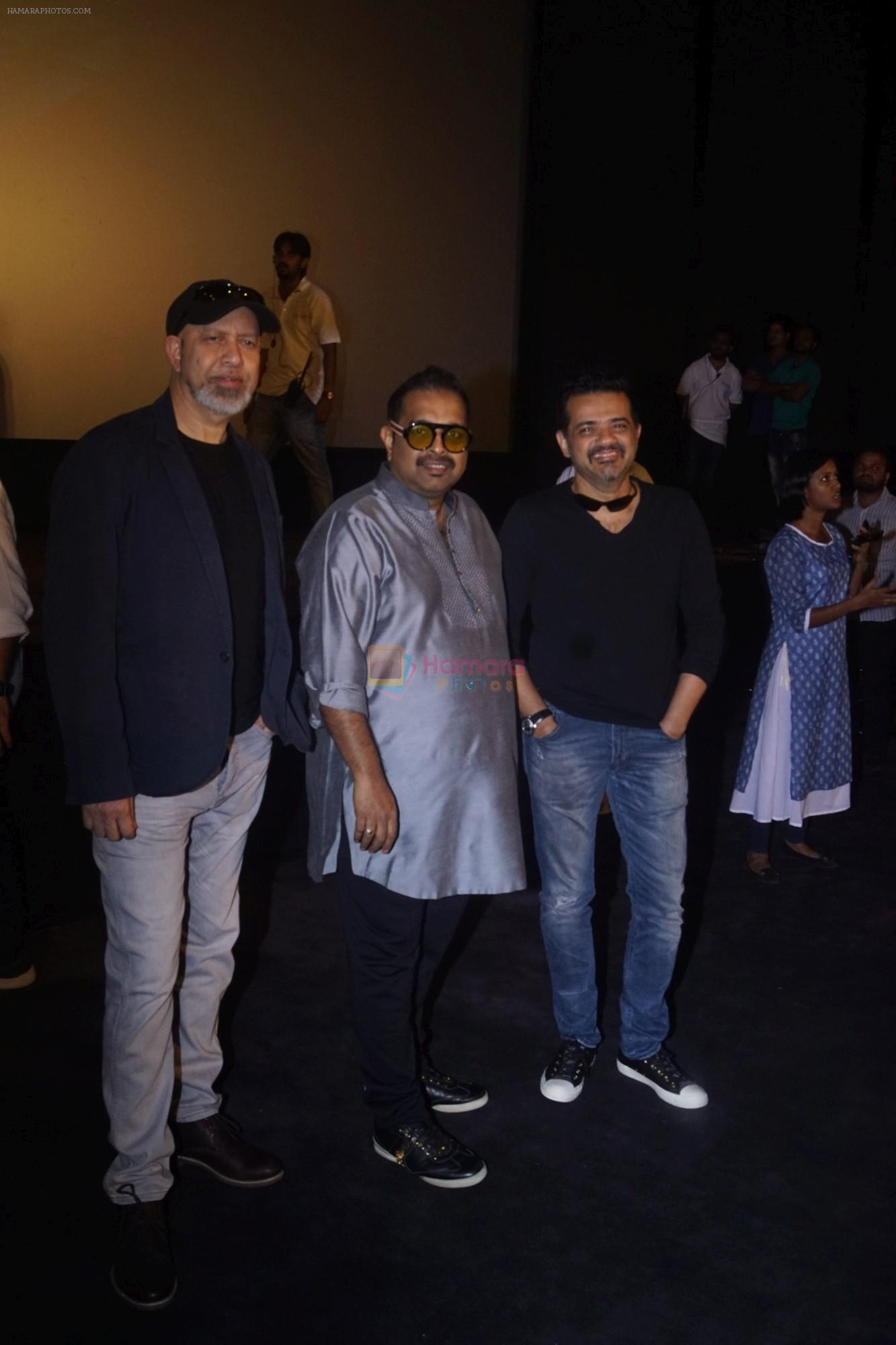 Shankar Ehsaan Loy At the Trailer Launch Of Film Manikarnika The Queen Of Jhansi on 18th Dec 2018