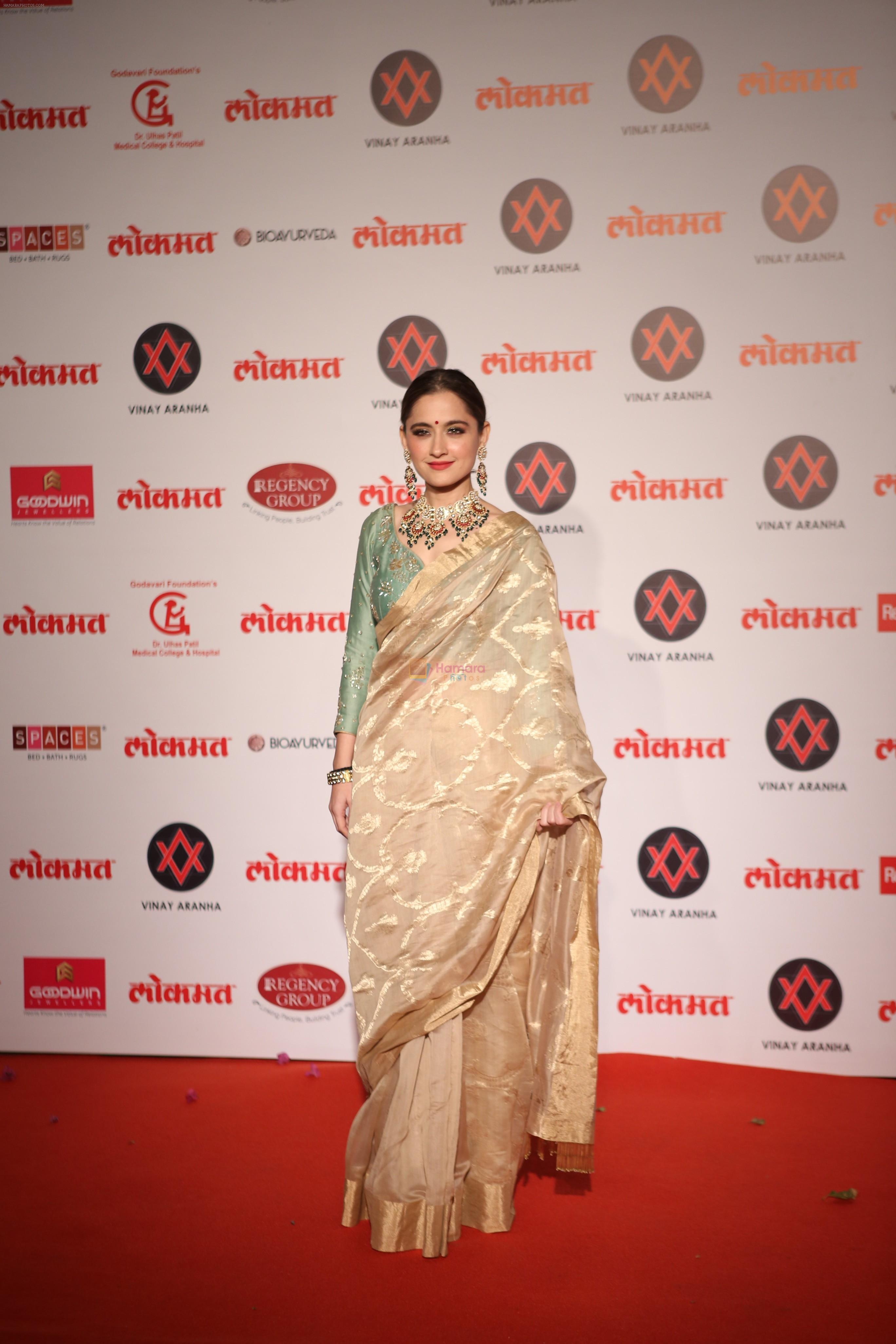 Sanjeeda Sheikh at Lokmat Most Stylish Awards in The Leela hotel andheri on 19th Dec 2018