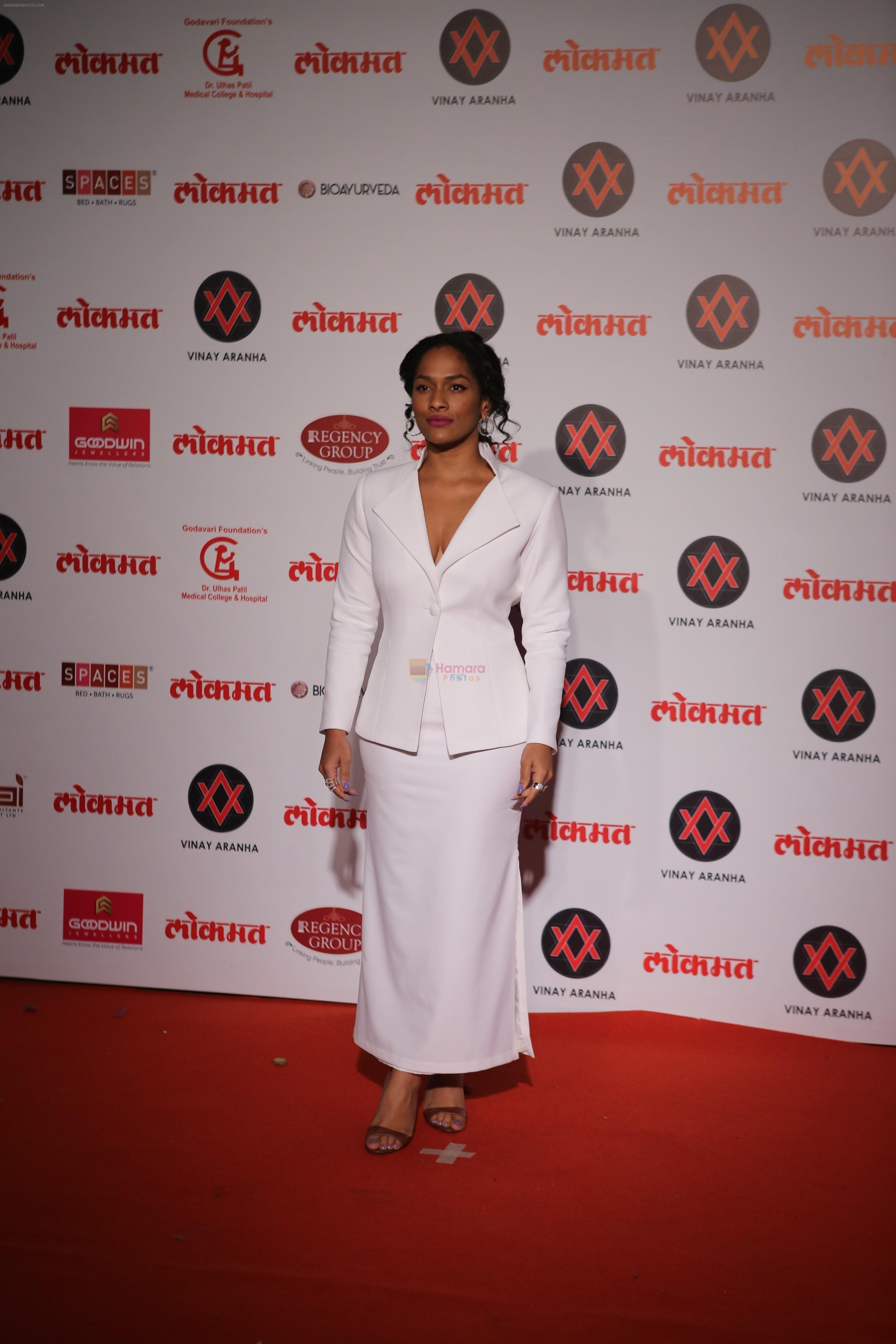 Masaba at Lokmat Most Stylish Awards in The Leela hotel andheri on 19th Dec 2018