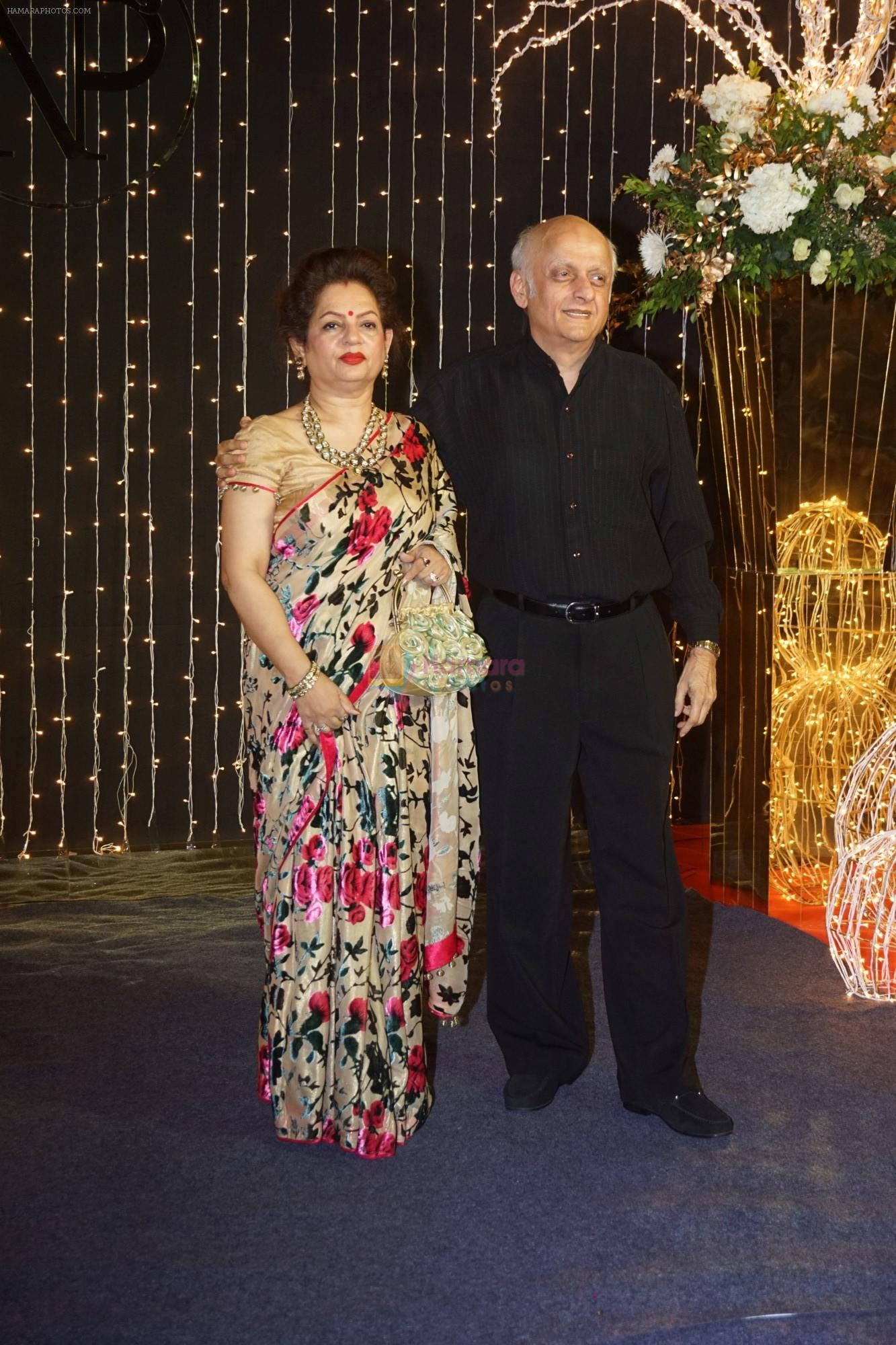 Mukesh BHatt at Priyanka Chopra & Nick Jonas wedding reception in Taj Lands End bandra on 20th Dec 2018