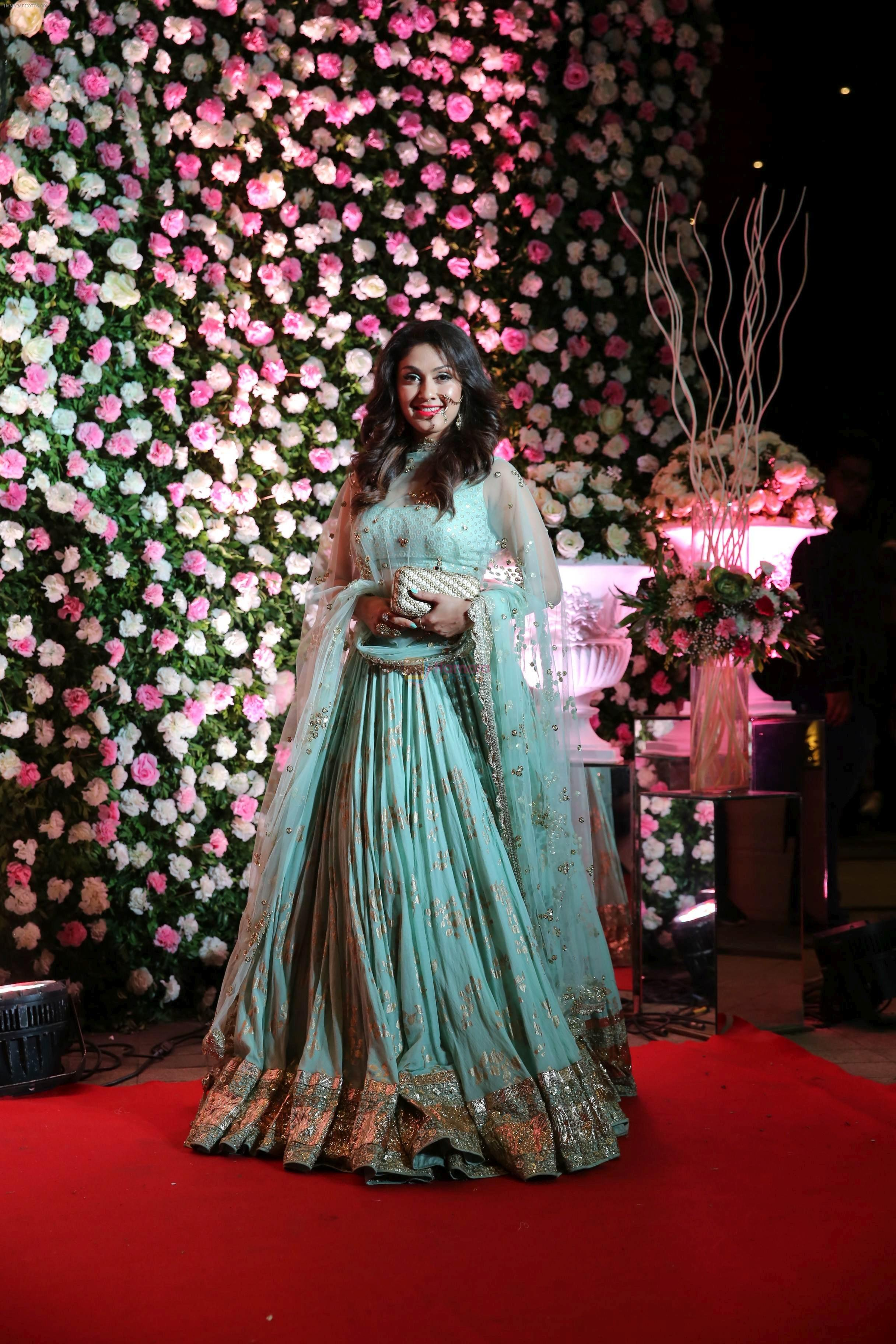 Manjari Phadnis at Kapil Sharma's wedding reception in jw marriott Sahar on 25th Dec 2018