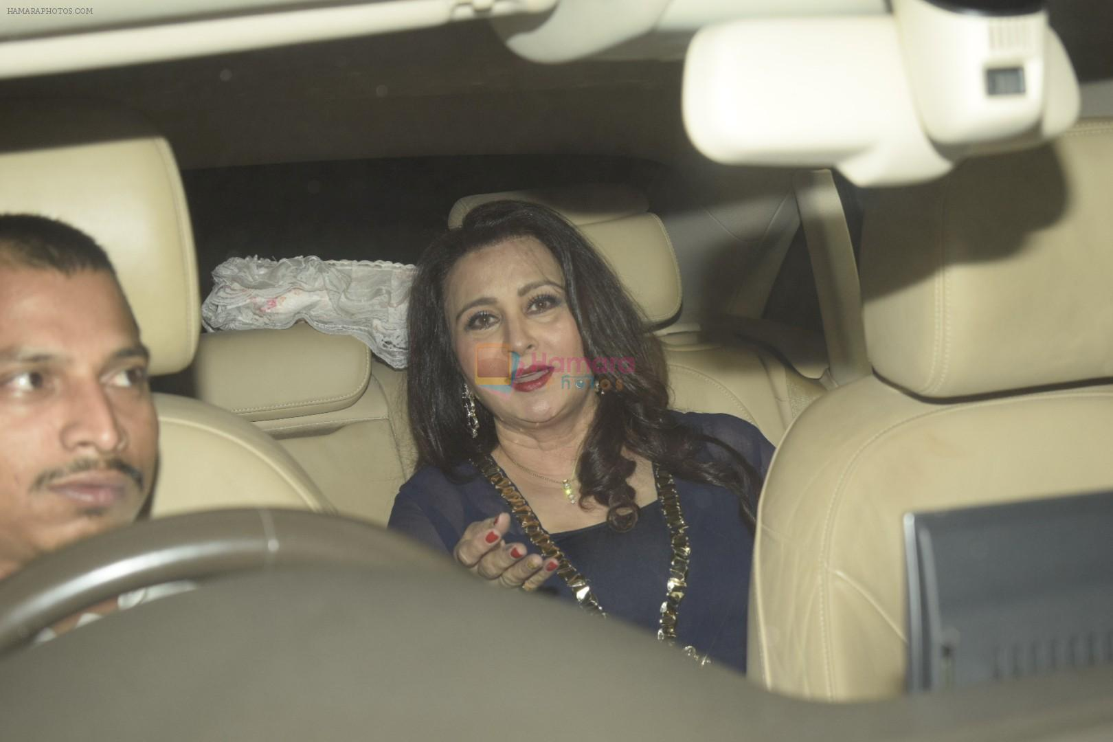 Poonam Dhillon at Sanjay Khan's birthday party at his home in juhu on 3rd Jan 2019