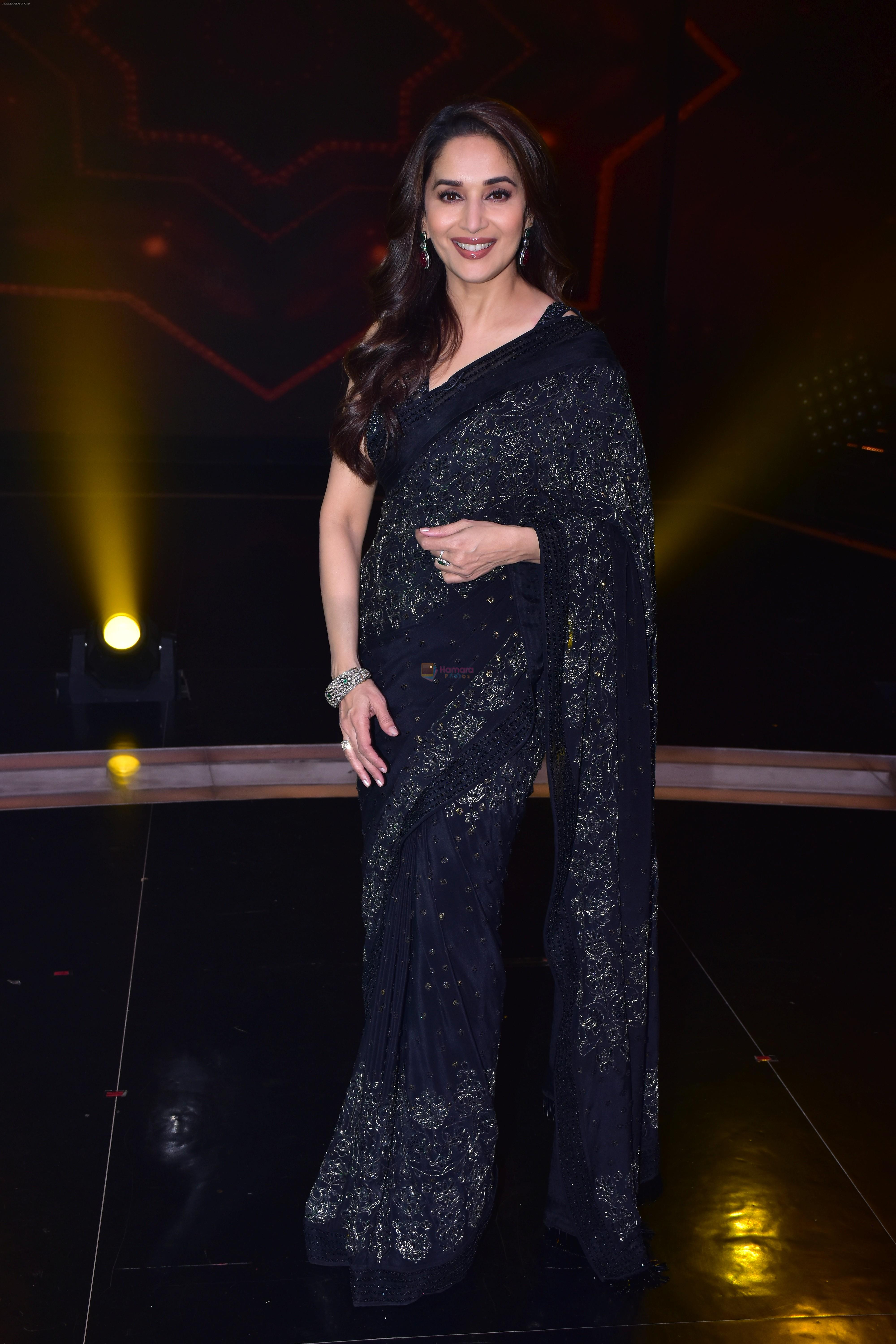 Madhuri Dixit Nene on the sets of DANCE Plus 4 on 7th Jan 2019