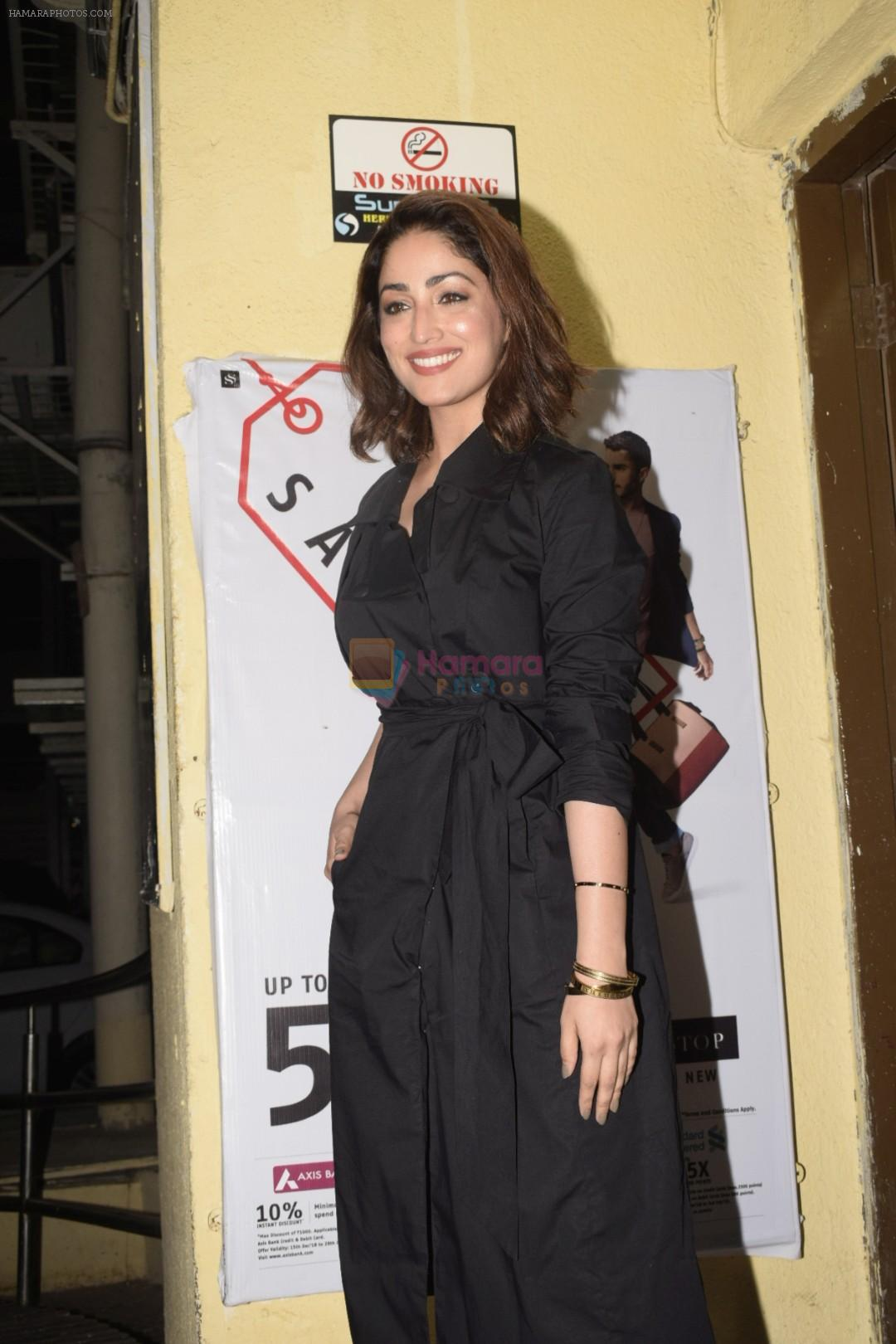Yami Gautam at the Screening Of Film Uri in Pvr Juhu on 9th Jan 2019