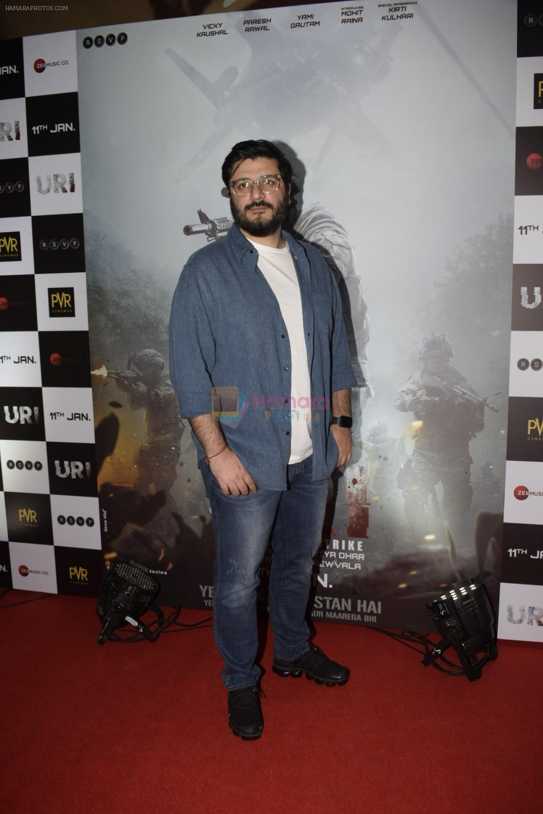 Goldie Behl at the Screening Of Film Uri in Pvr Juhu on 9th Jan 2019