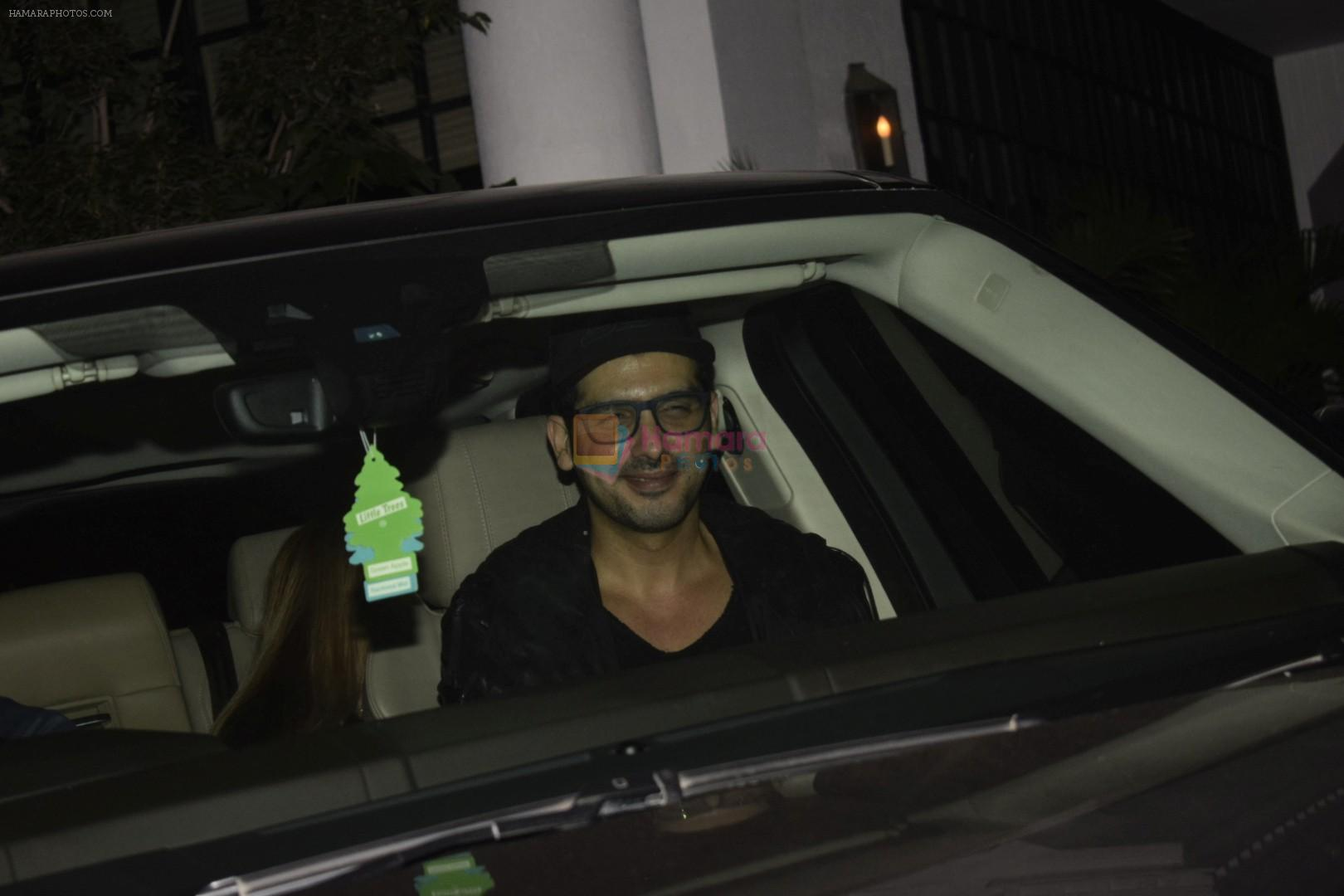 Zayed Khan at Hrithik Roshan birthday celebration at Soho House juhu on 10th Jan 2019