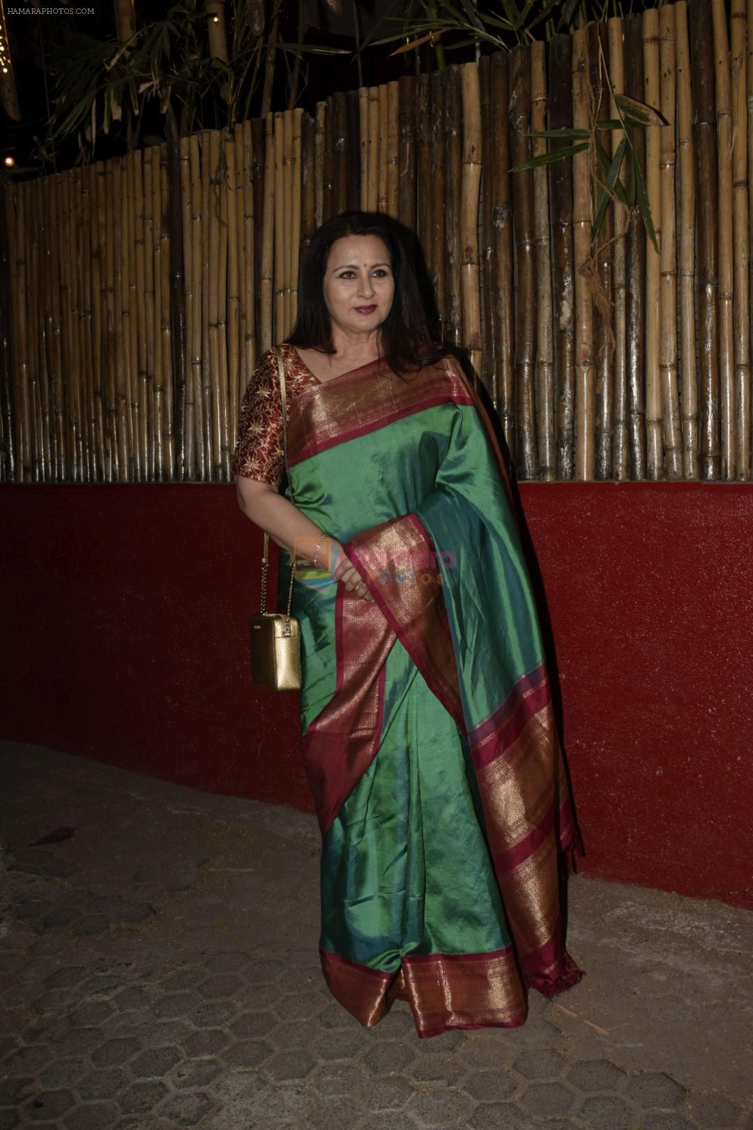 Poonam Dhillon at Kaifi Azmi's centenary celebrations with a musical evening at his juhu residence on 10th Jan 2019