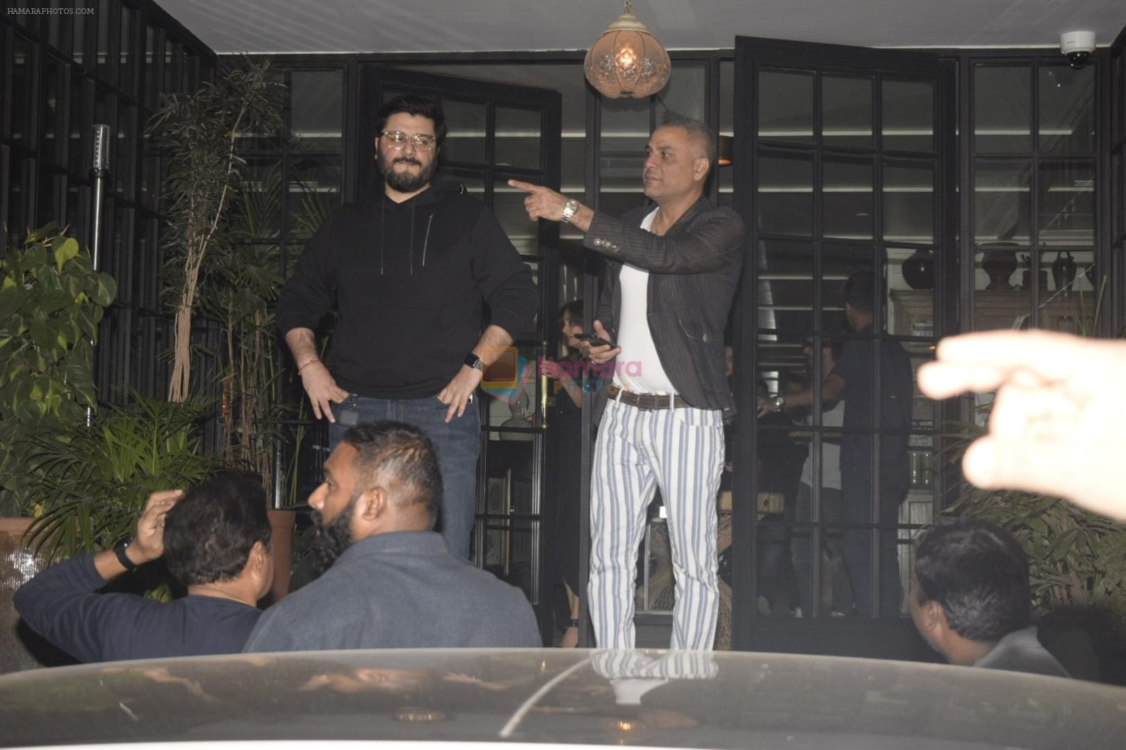 Goldie Behl at Hrithik Roshan birthday celebration at Soho House juhu on 10th Jan 2019