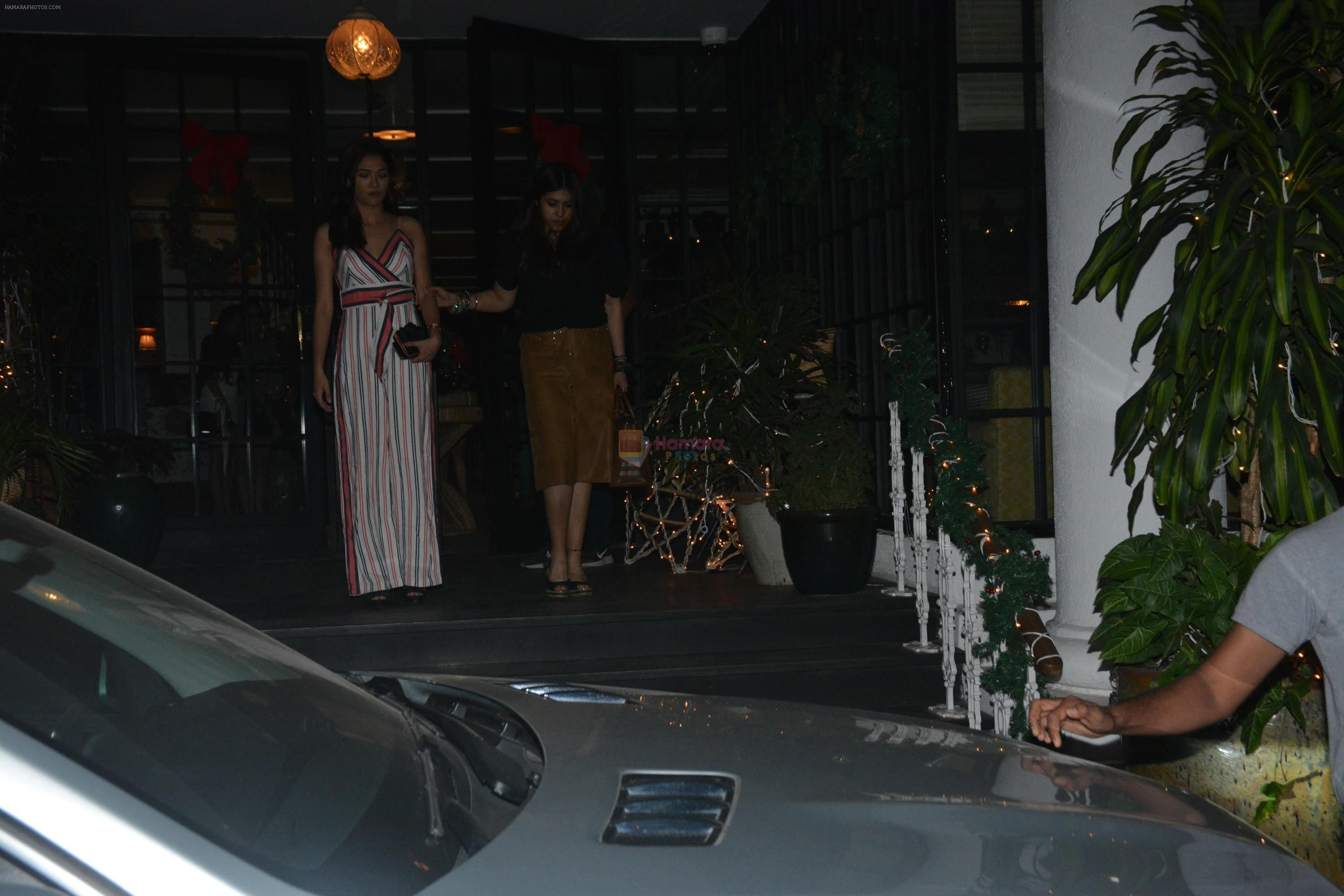 Ekta Kapoor Spotted At Soho House Juhu