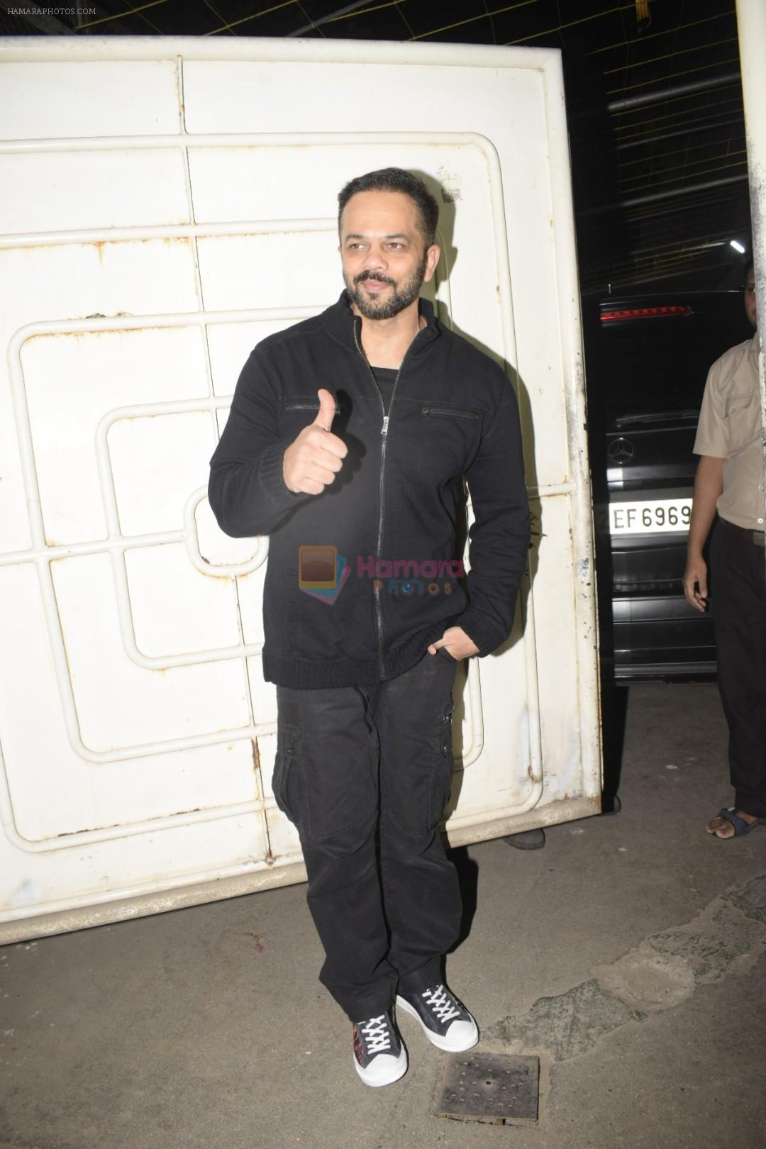 Rohit Shetty at the Screening of film Uri in sunny sound juhu on 12th Jan 2019