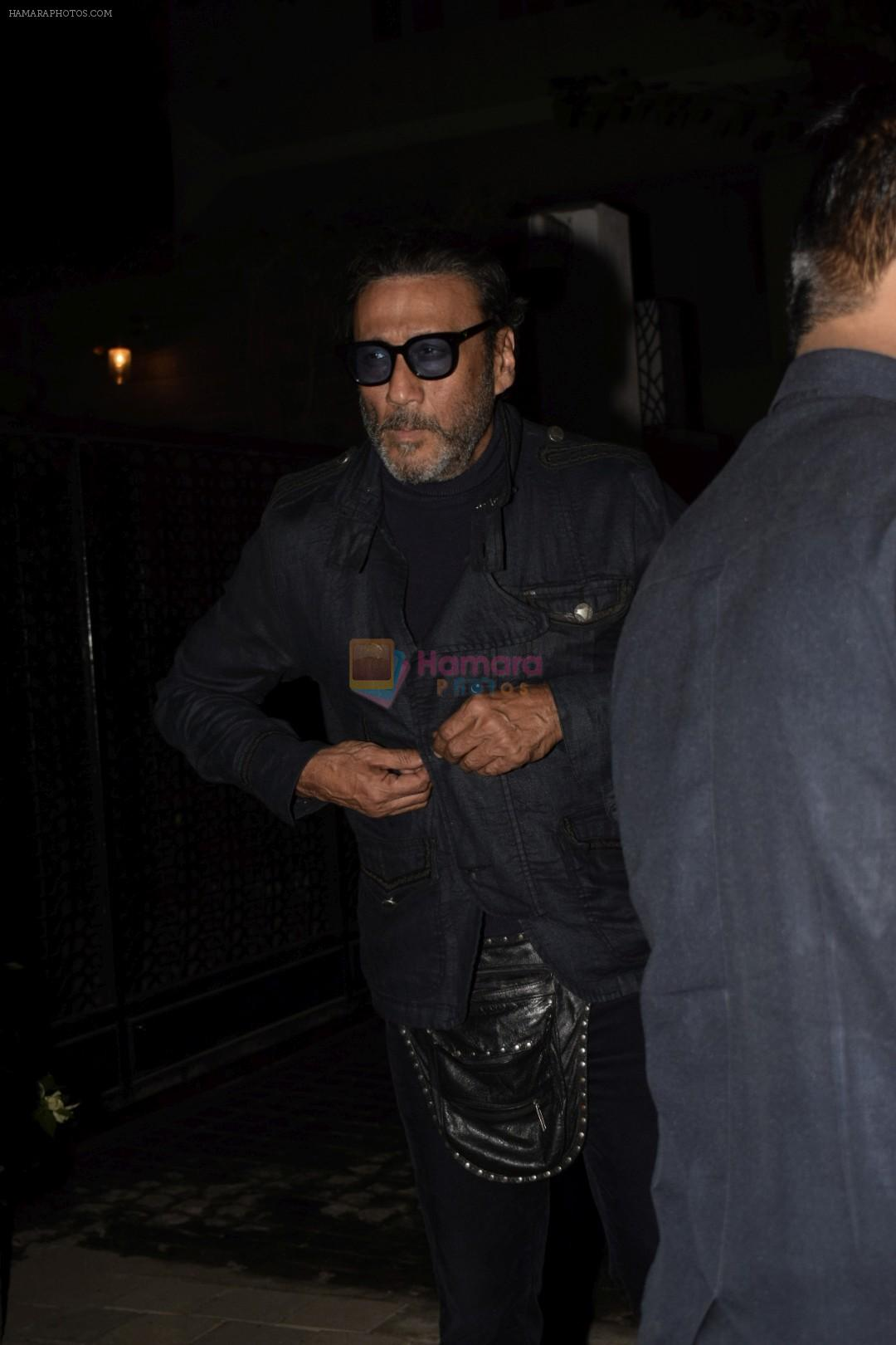 Jackie Shroff spotted at Soho House on 17th Jan 2019