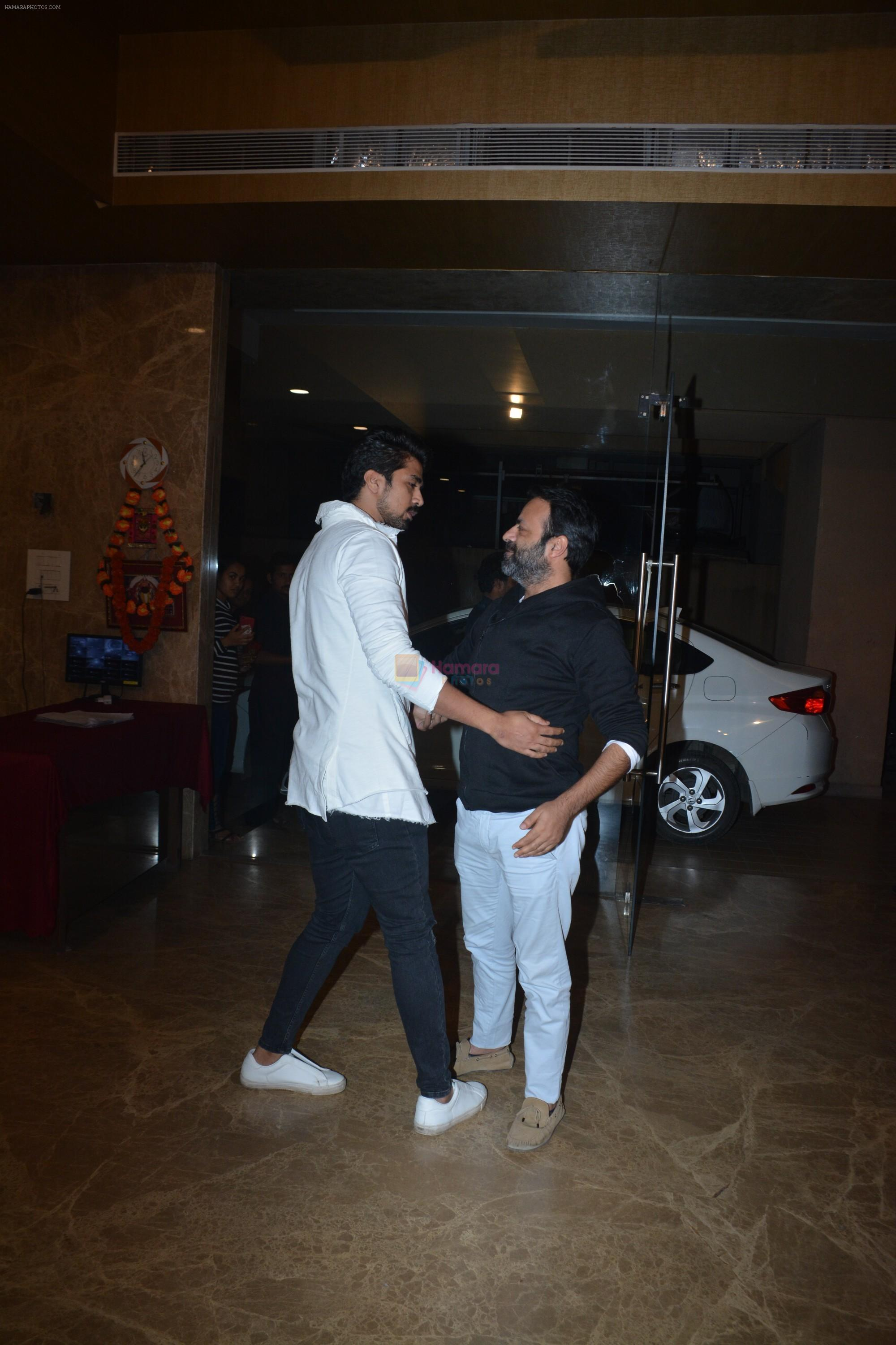Saqib Saleem at Ramesh Taurani's birthday party at his house in khar on 17th Jan 2019