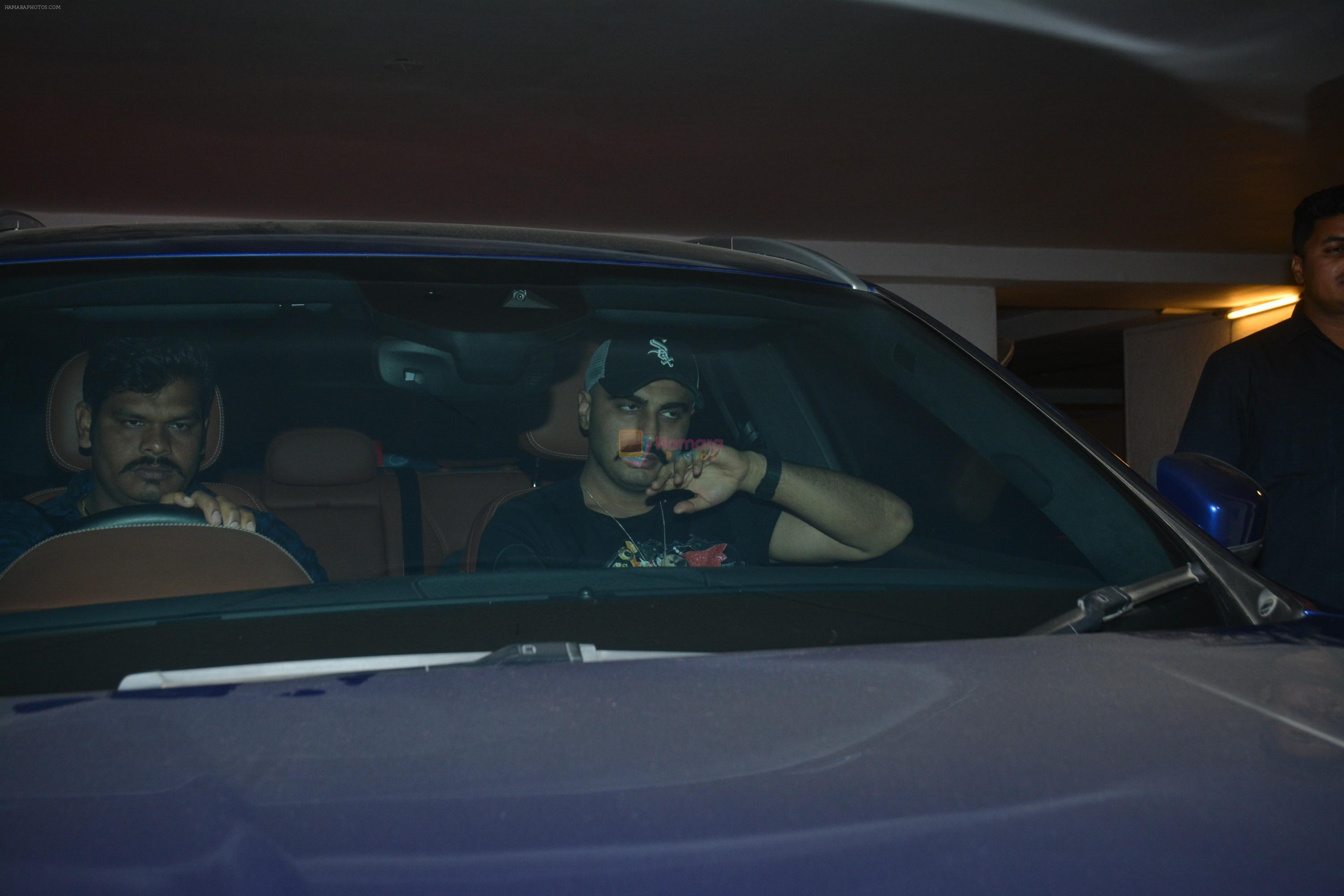 Arjun Kapoor spotted at Karan Johar's house in bandra on 16th Jan 2018