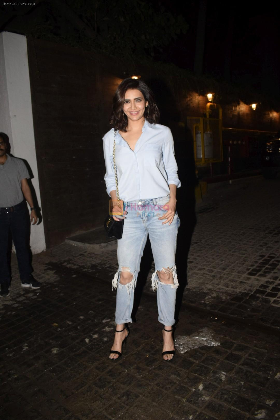 Karishma tanna spotted at Soho House juhu on 17th Jan 2019