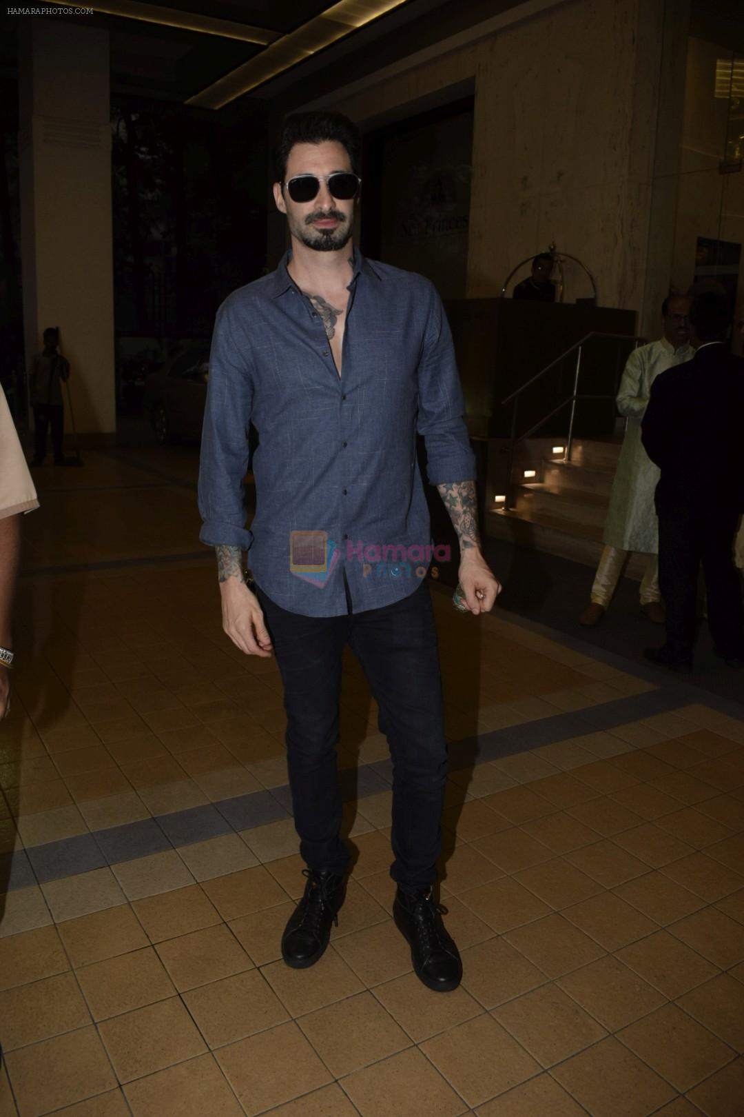 Daniel Weber attend a Birthday Party in Sea Princess Juhu on 18th Jan 2019