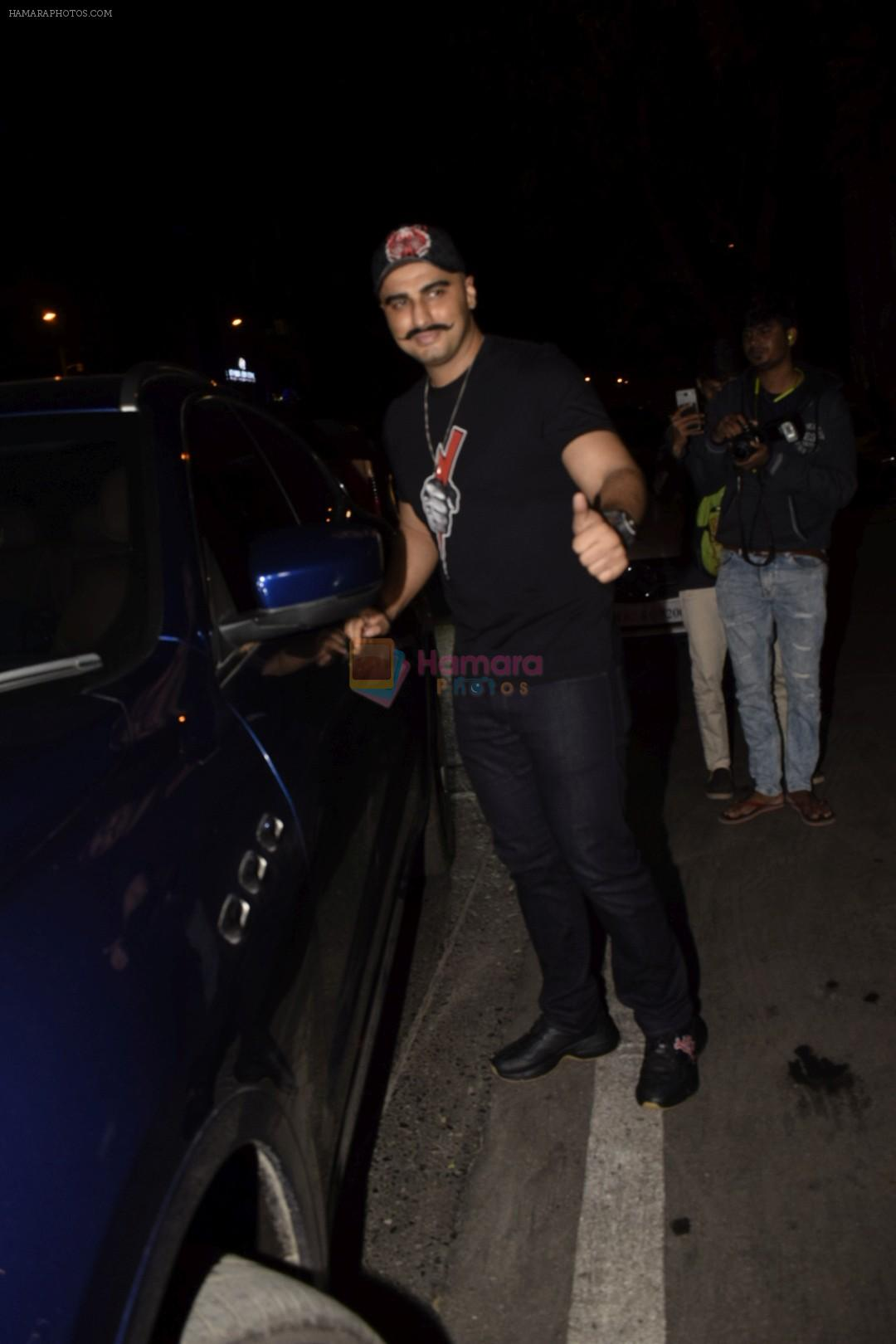 Arjun Kapoor spotted at Soho House juhu on 18th Jan 2019