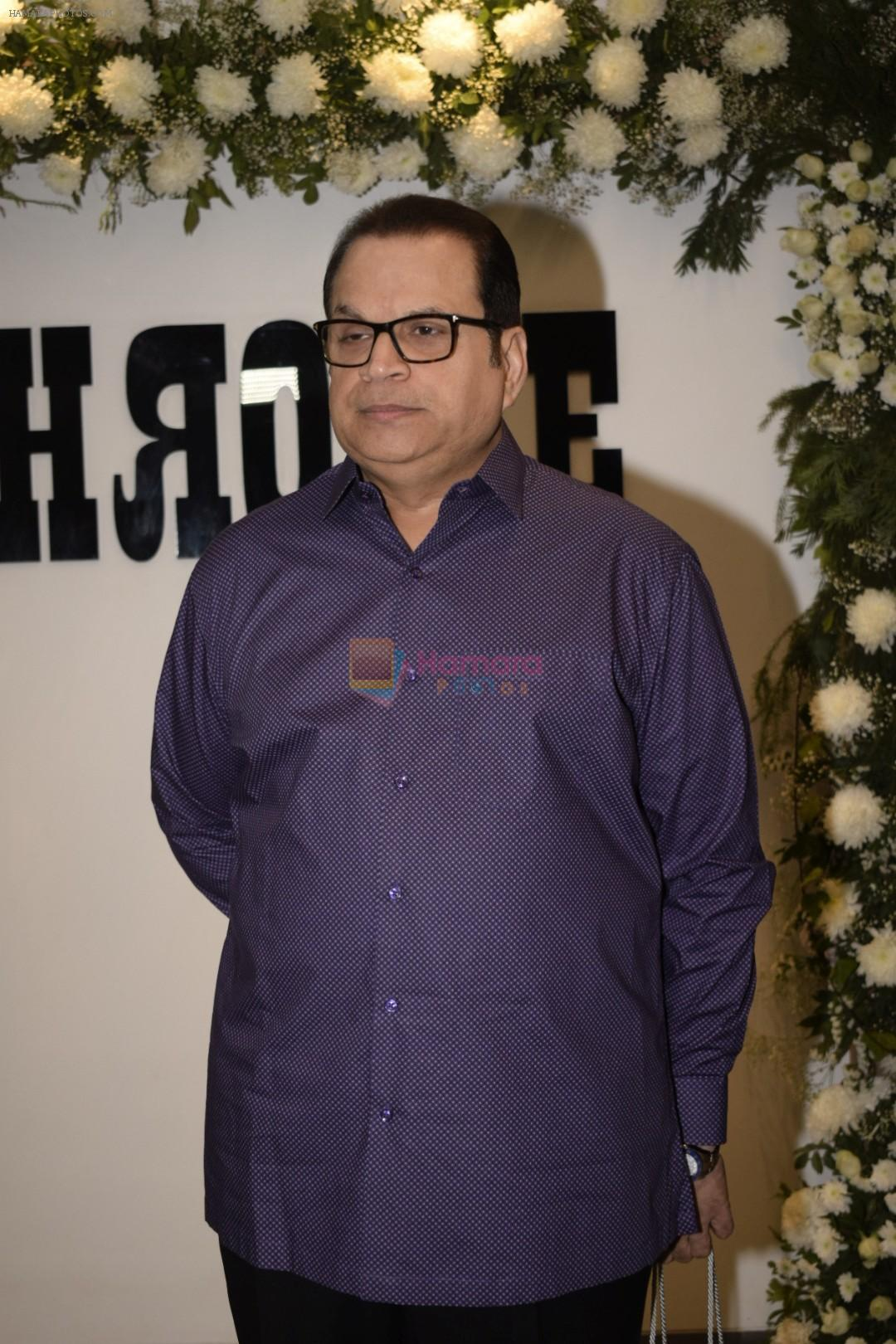 Ramesh Taurani at Badhaai Ho success & Chrome picture's15th anniversary in andheri on 19th Jan 2019