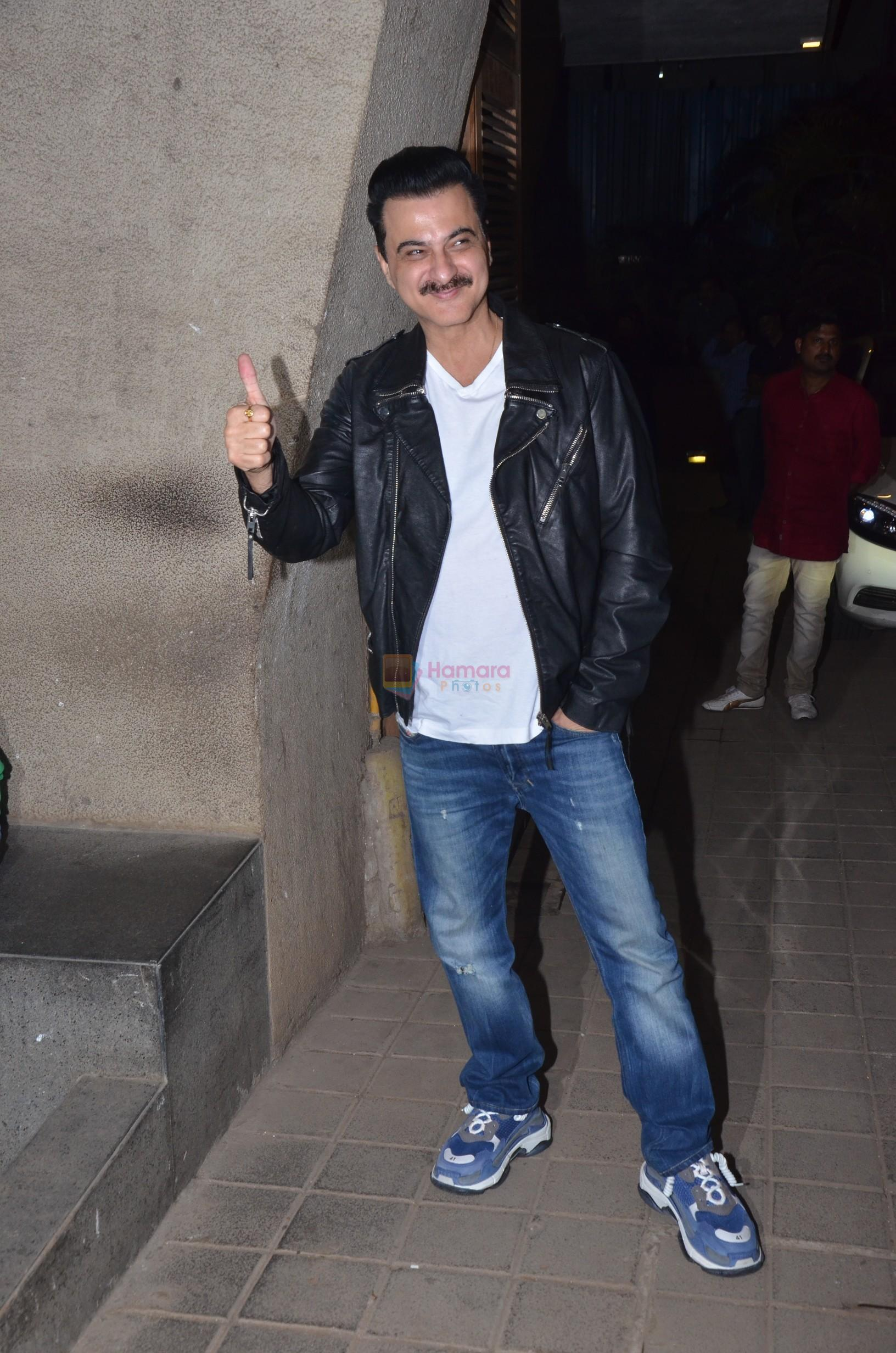 Sanjay Kapoor at Punit Malhotra's Party in Bandra on 20th Jan 2019