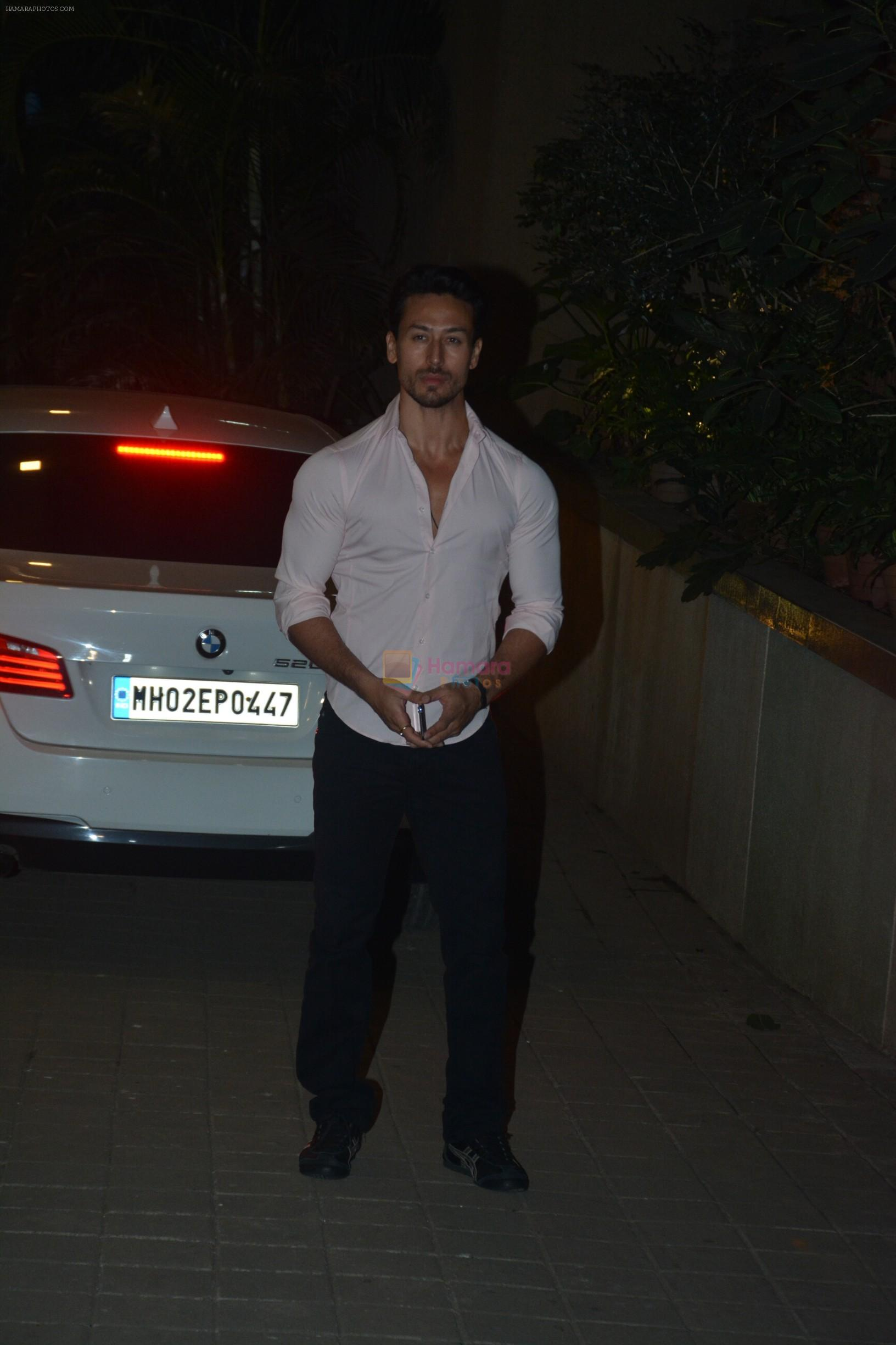 Tiger Shroff at Punit Malhotra's Party in Bandra on 20th Jan 2019