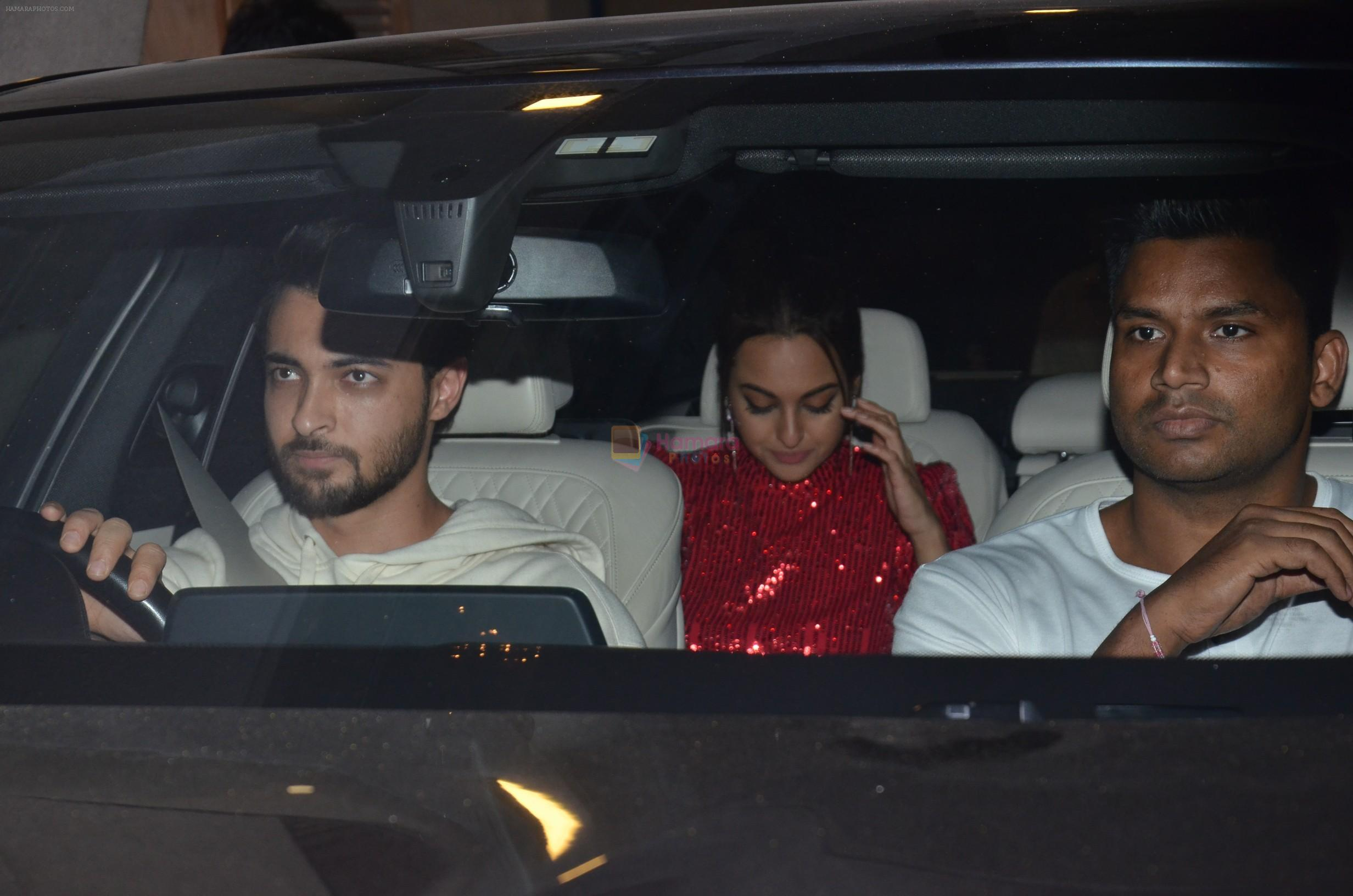 Sonakshi Sinha at Punit Malhotra's Party in Bandra on 20th Jan 2019