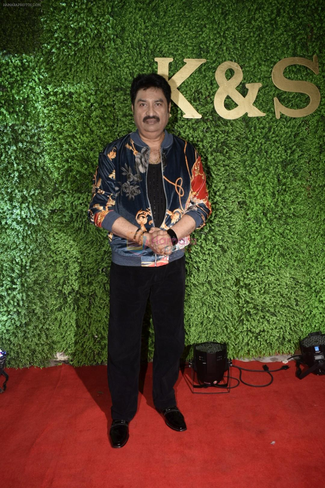 Kumar Sanu at Sameer Ajaan's daughter's wedding reception at Sun n Sand in juhu on 22nd Jan 2019