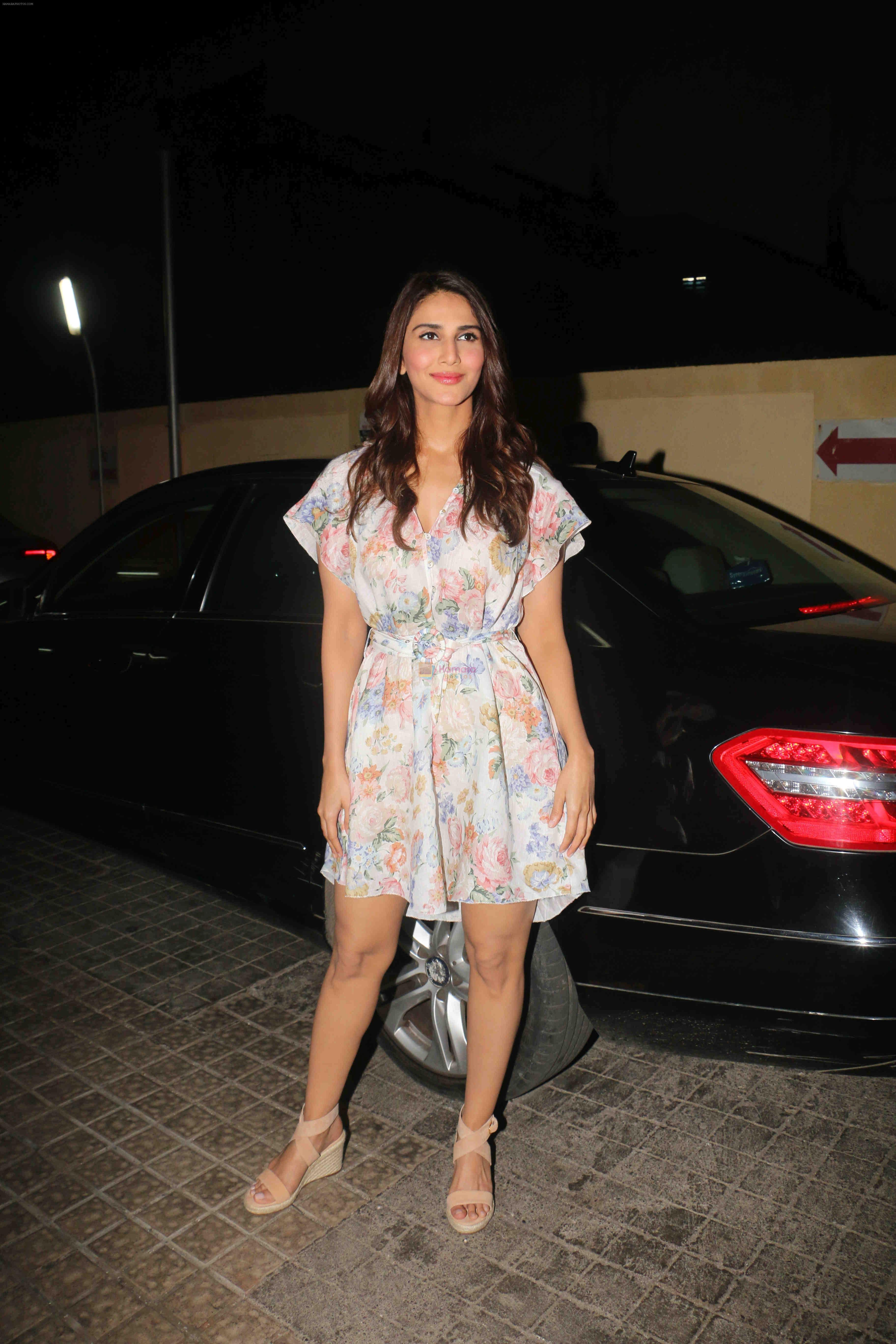 Vaani Kapoor at the screening of his next production Rubaru at pvr juhu on 21st Jan 2019