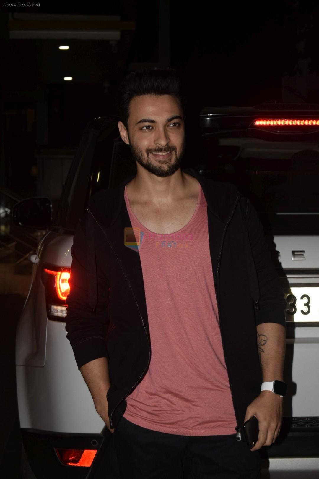 Aayush Sharma Spotted At Khar on 23rd Jan 2019