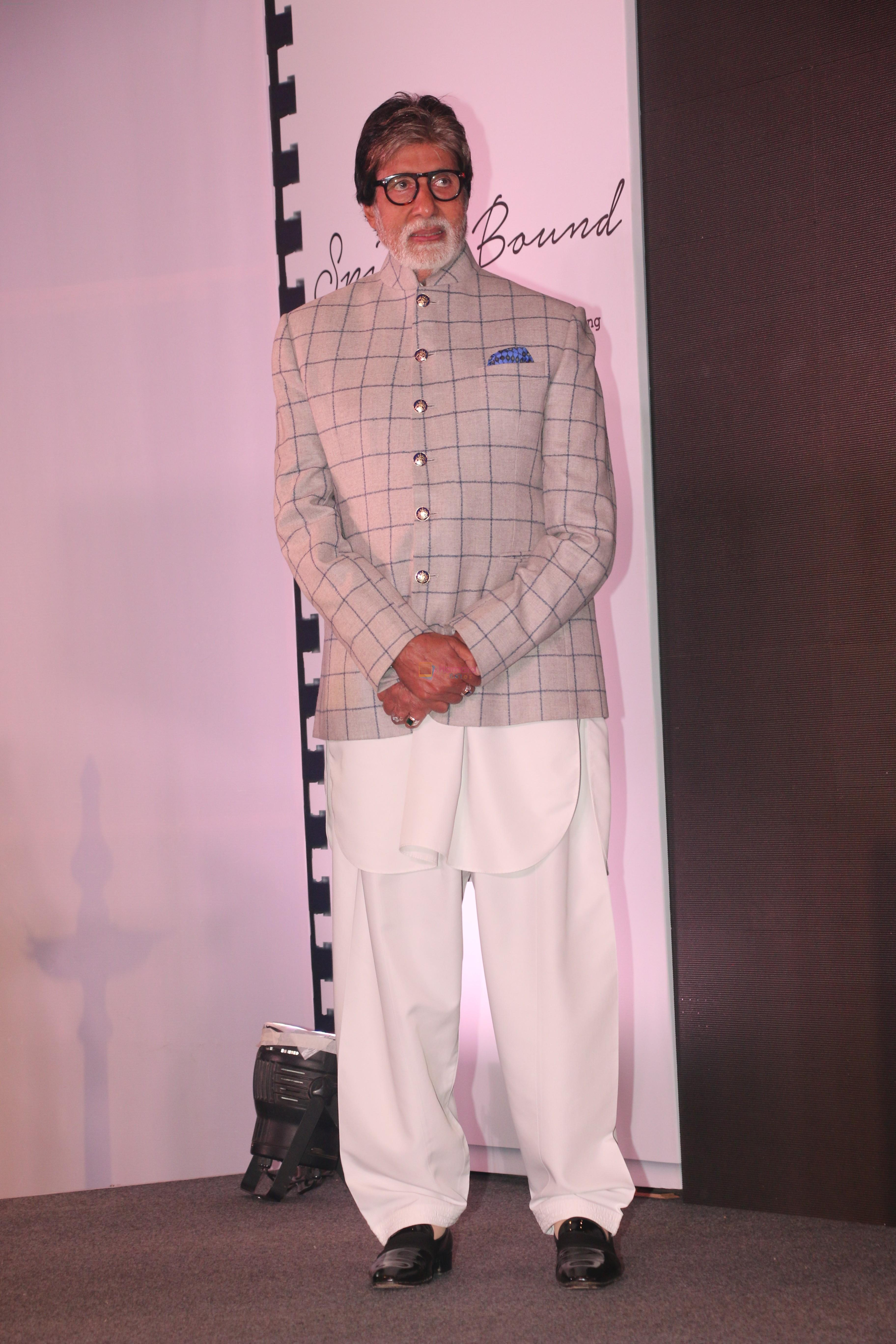 Amitabh Bachchan at the launch of Boman Irani's production at jw marriott juhu on 24th Jan 2019