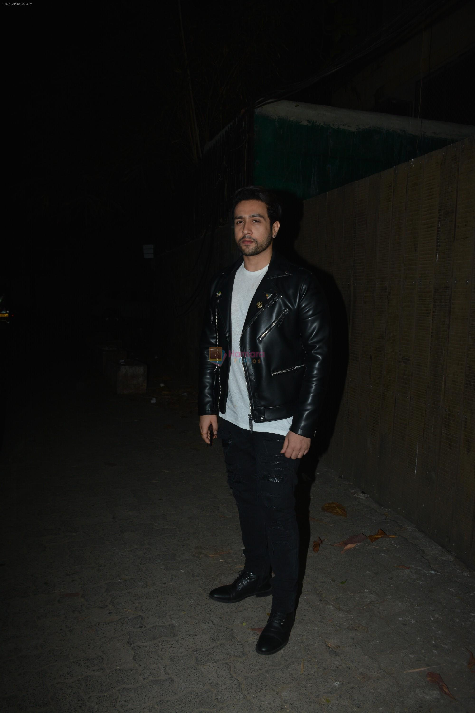 Adhyayan Suman at the Screening of film Thackeray in sunny super sound on 24th Jan 2019