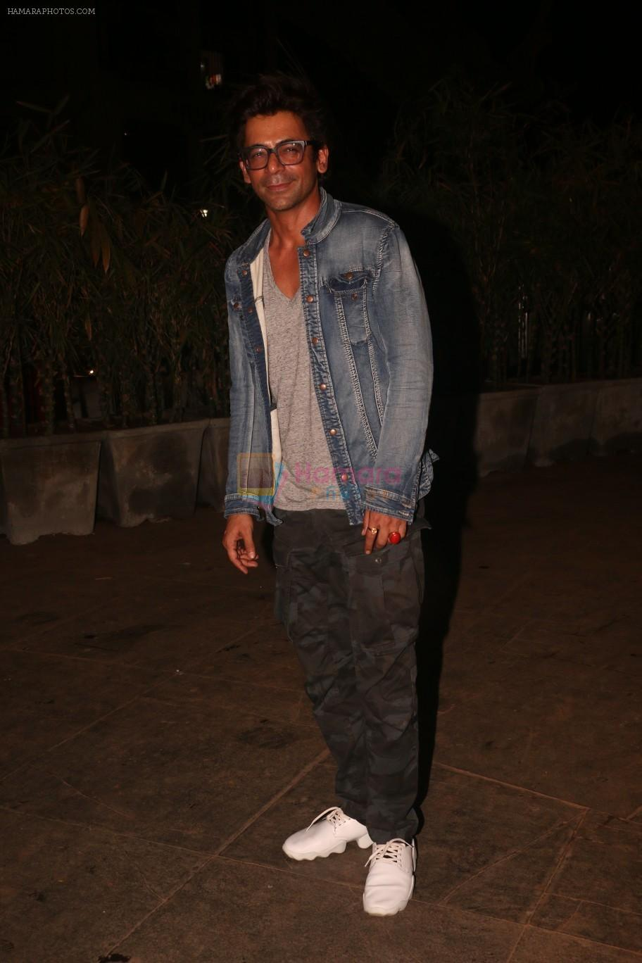 Sunil Grover at Nora Fatehi's birthday party in bandra on 5th Feb 2019