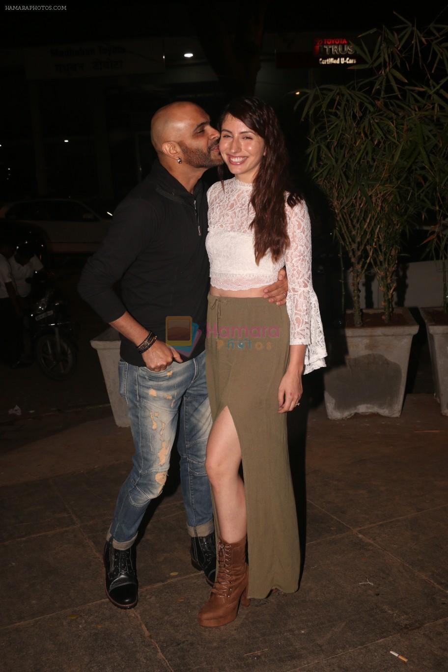 Rajiv Lakshman at Nora Fatehi's birthday party in bandra on 5th Feb 2019