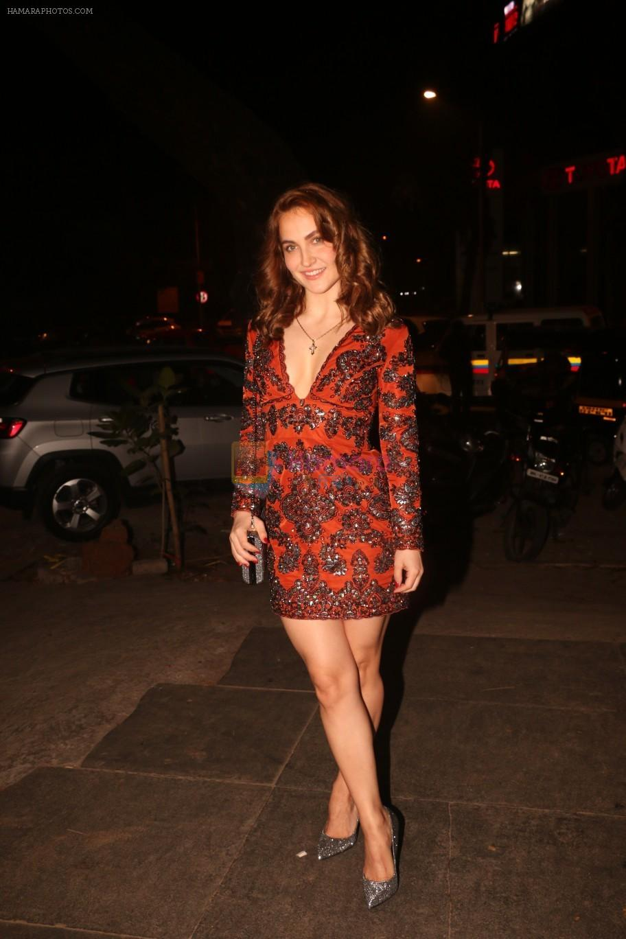 Elli Avram at Nora Fatehi's birthday party in bandra on 5th Feb 2019