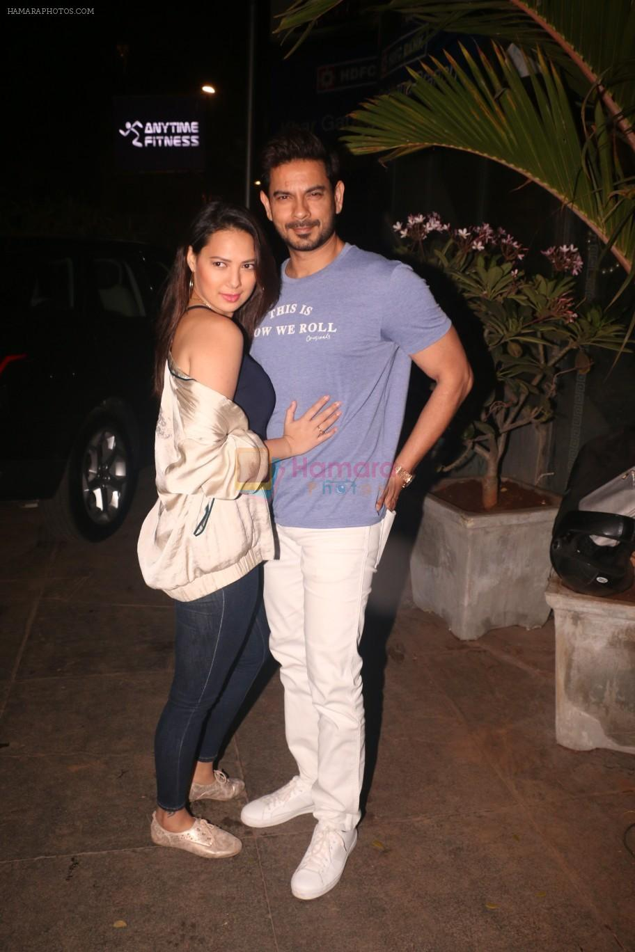 Rochelle Rao,Keith Sequeira  at Nora Fatehi's birthday party in bandra on 5th Feb 2019